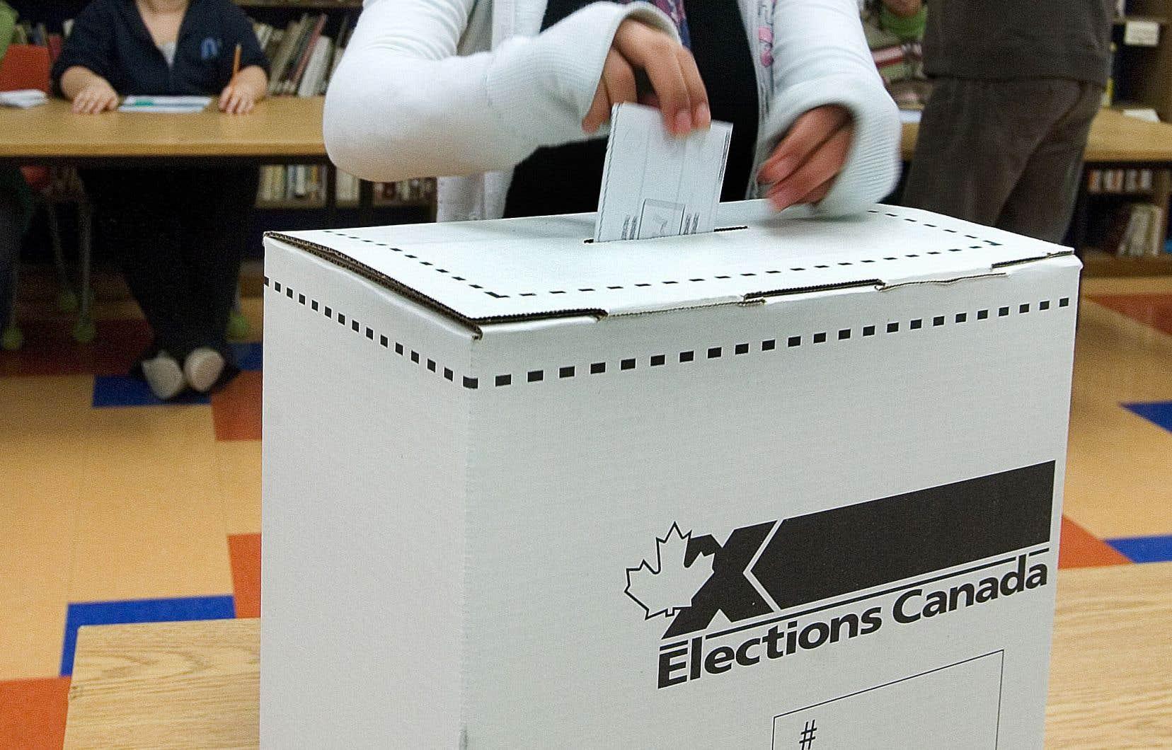 Le Bloc québécois réclame le retour du financement public des partis politiques à Ottawa.