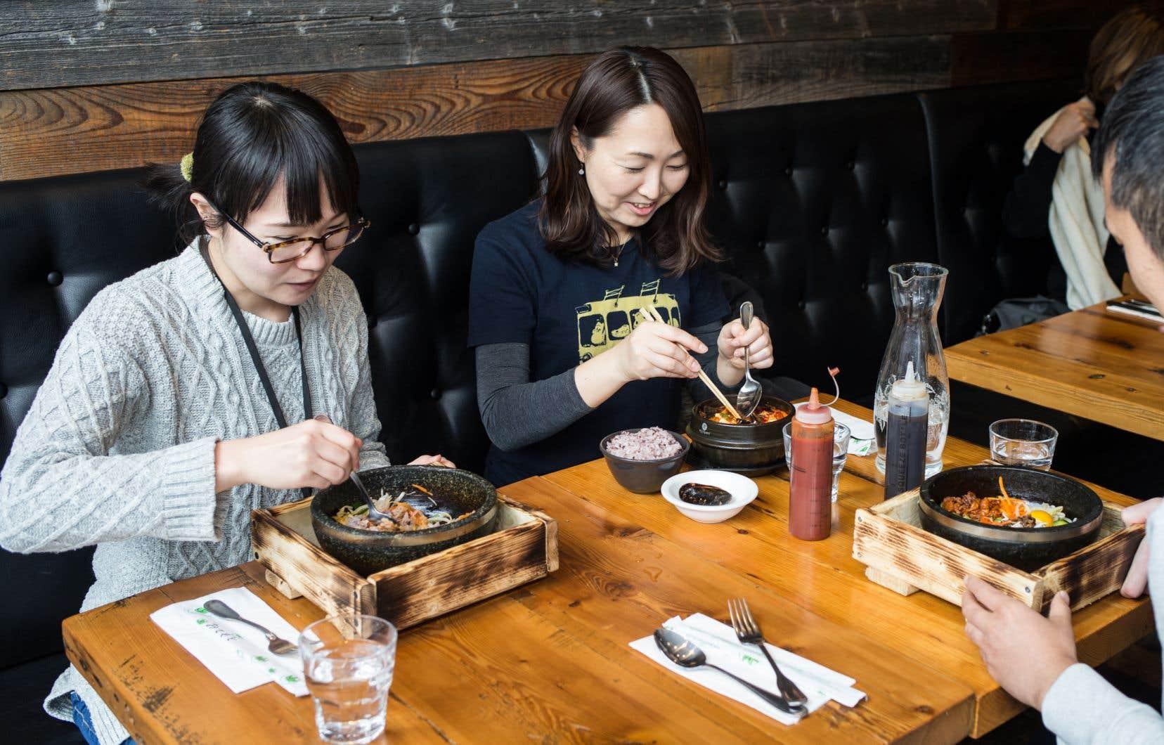 Le tout nouveau restaurant sur le boulevard Saint-Laurent propose une carte presque exclusivement coréenne.
