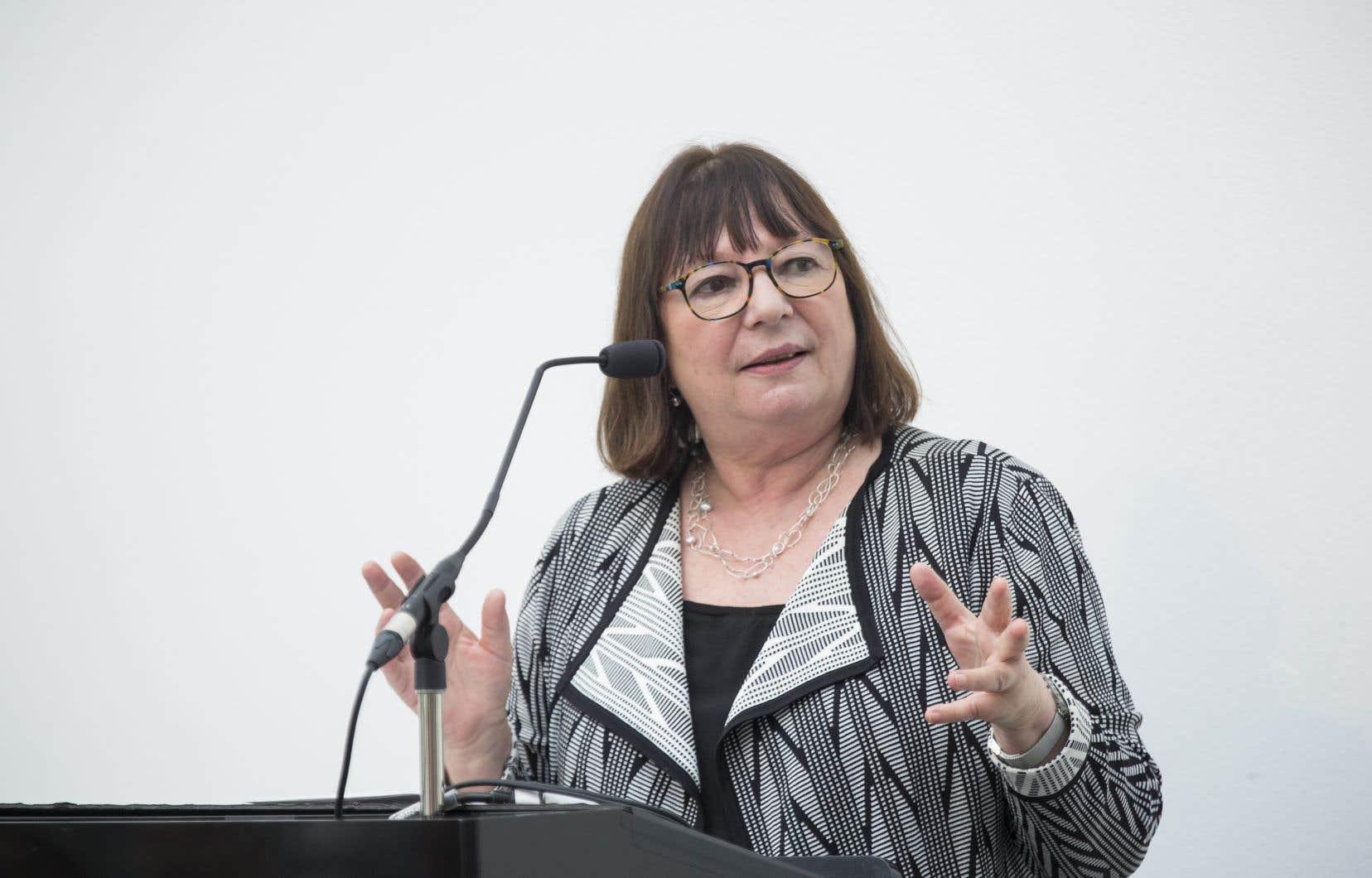 Le mandat de Monique Simard à la tête de la SODEC s'est terminé le 5 janvier 2018.