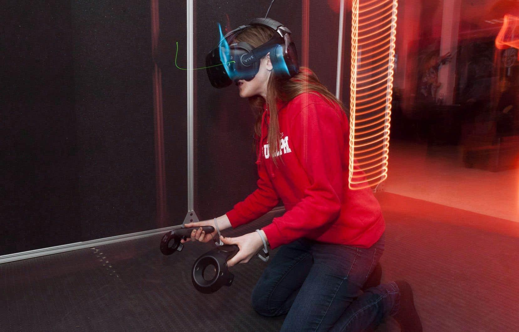 L'arcade de réalité virtuelle Ctrl V, à Waterloo, est le premier établissement du genre au pays.