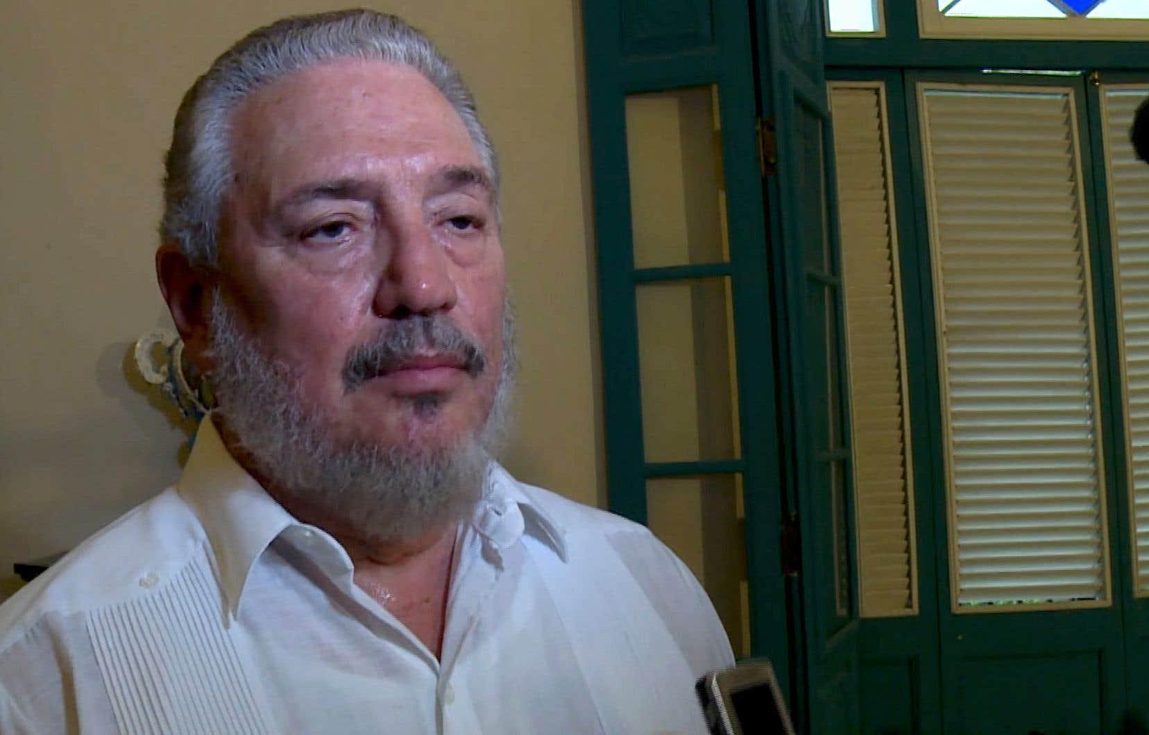 Fidel Castro Diaz-Balart,l'aîné des enfants du fondateur de la révolution cubaine était né du premier mariage de Fidel Castro avec Mirtha Diaz-Balart.