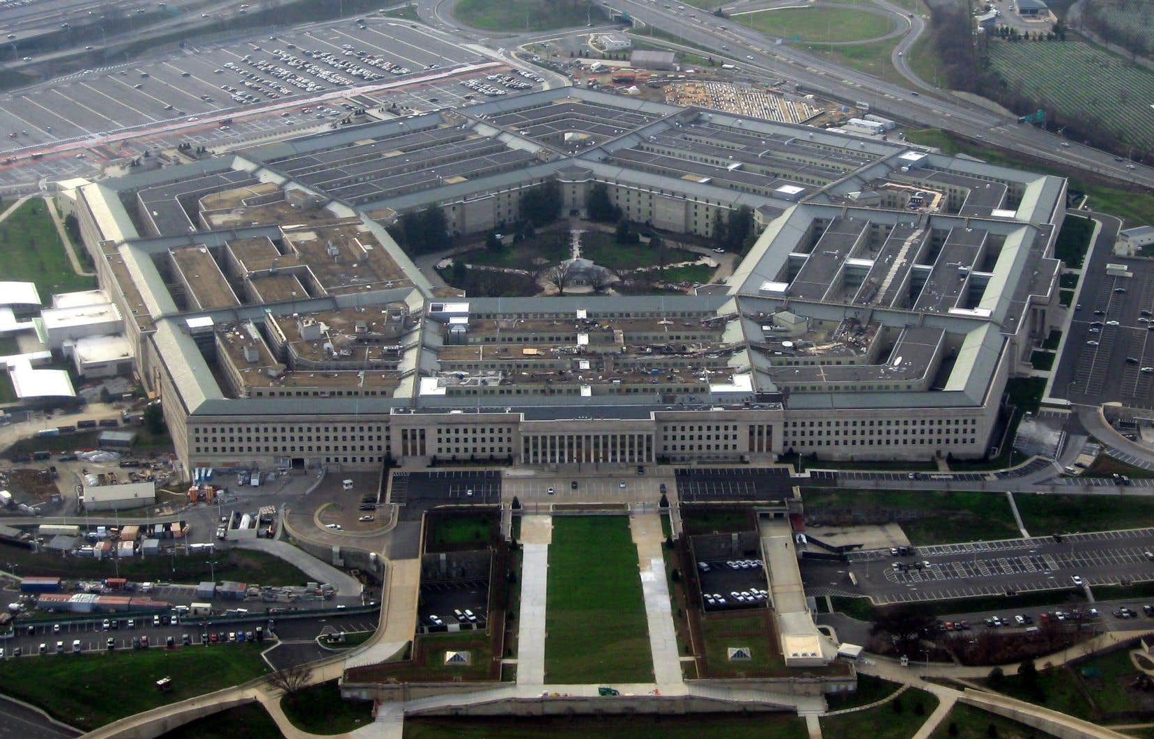 Le Pentagone, à Arlington, en 2008