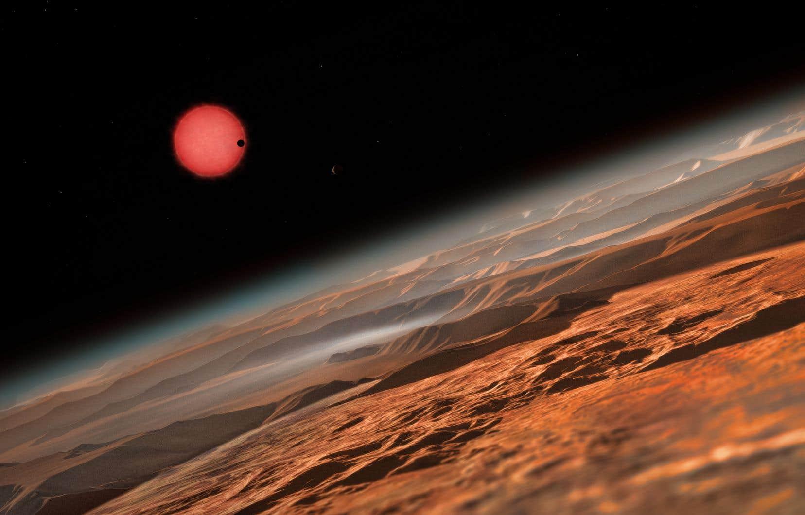 Depuis l'annonce de leur découverte en février dernier, les astronomes disposent de plus d'informations sur l'étoile TRAPPIST-1, ses planètes et leurs atmosphères.