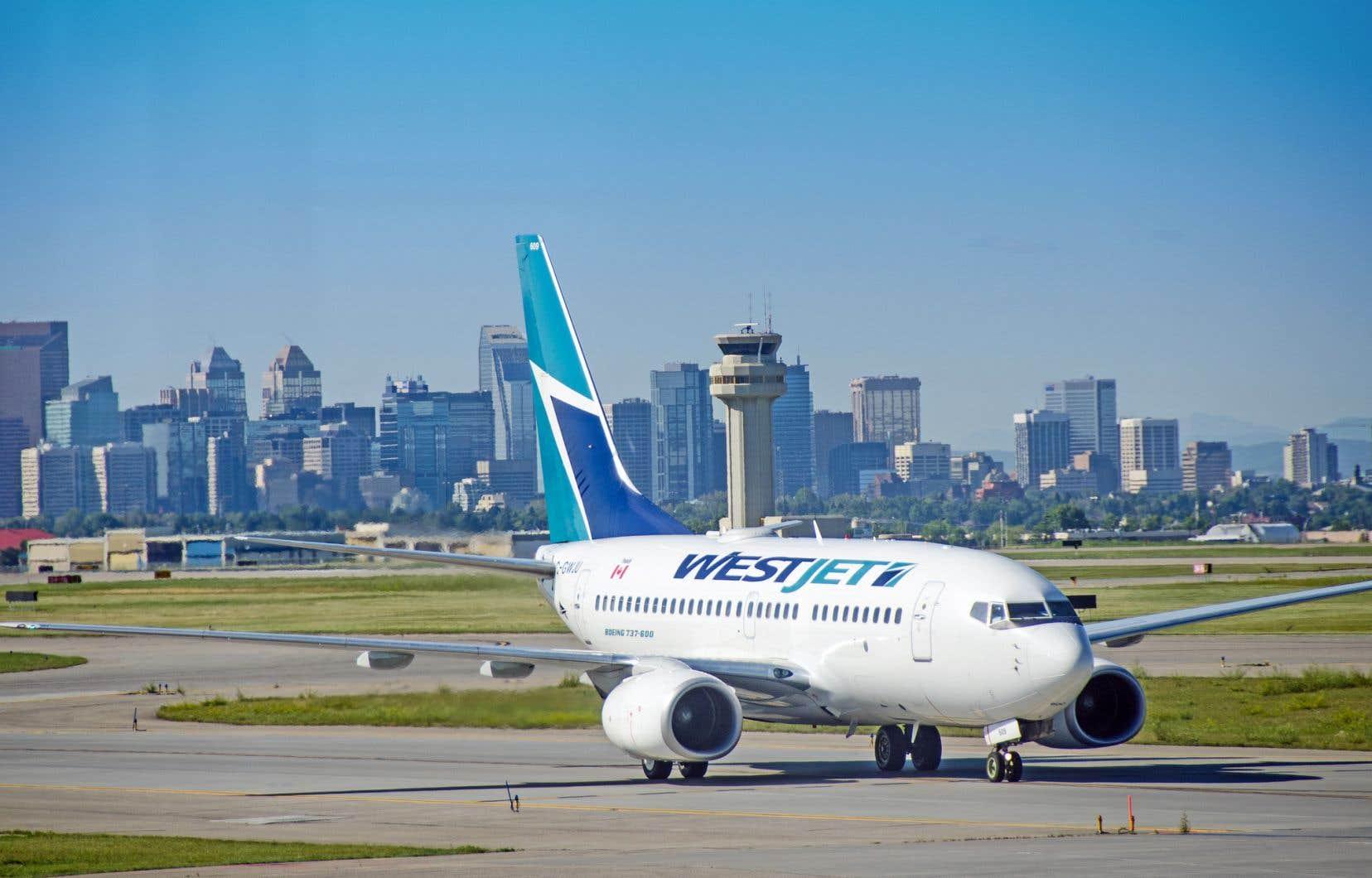 Le transporteur aérien établi à Calgary a engrangé un profit de 48,5millions.