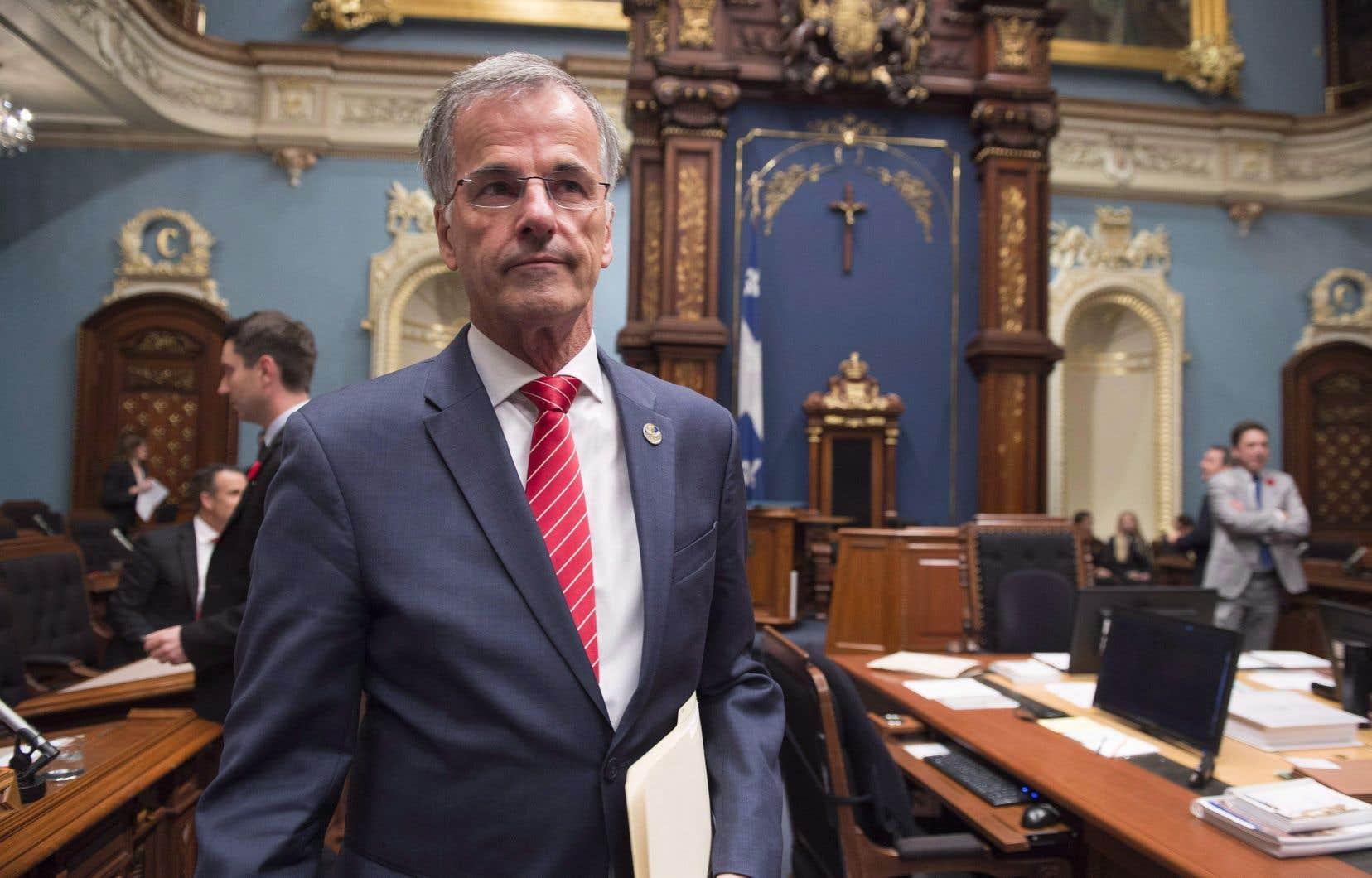 Le document est daté du 25 octobre dernier, jour de l'arrestation du député Guy Ouellette.