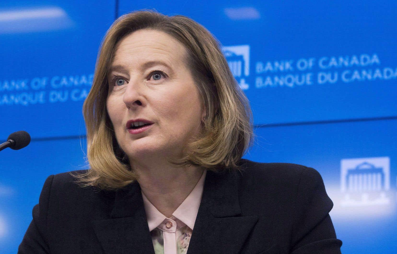 La première sous-gouverneure de la Banque du Canada, Carolyn Wilkins
