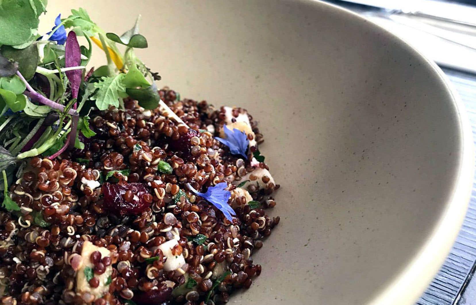 Il s'agit d'un plat bourré de super-aliments, très simple et végétarien, à conserver!