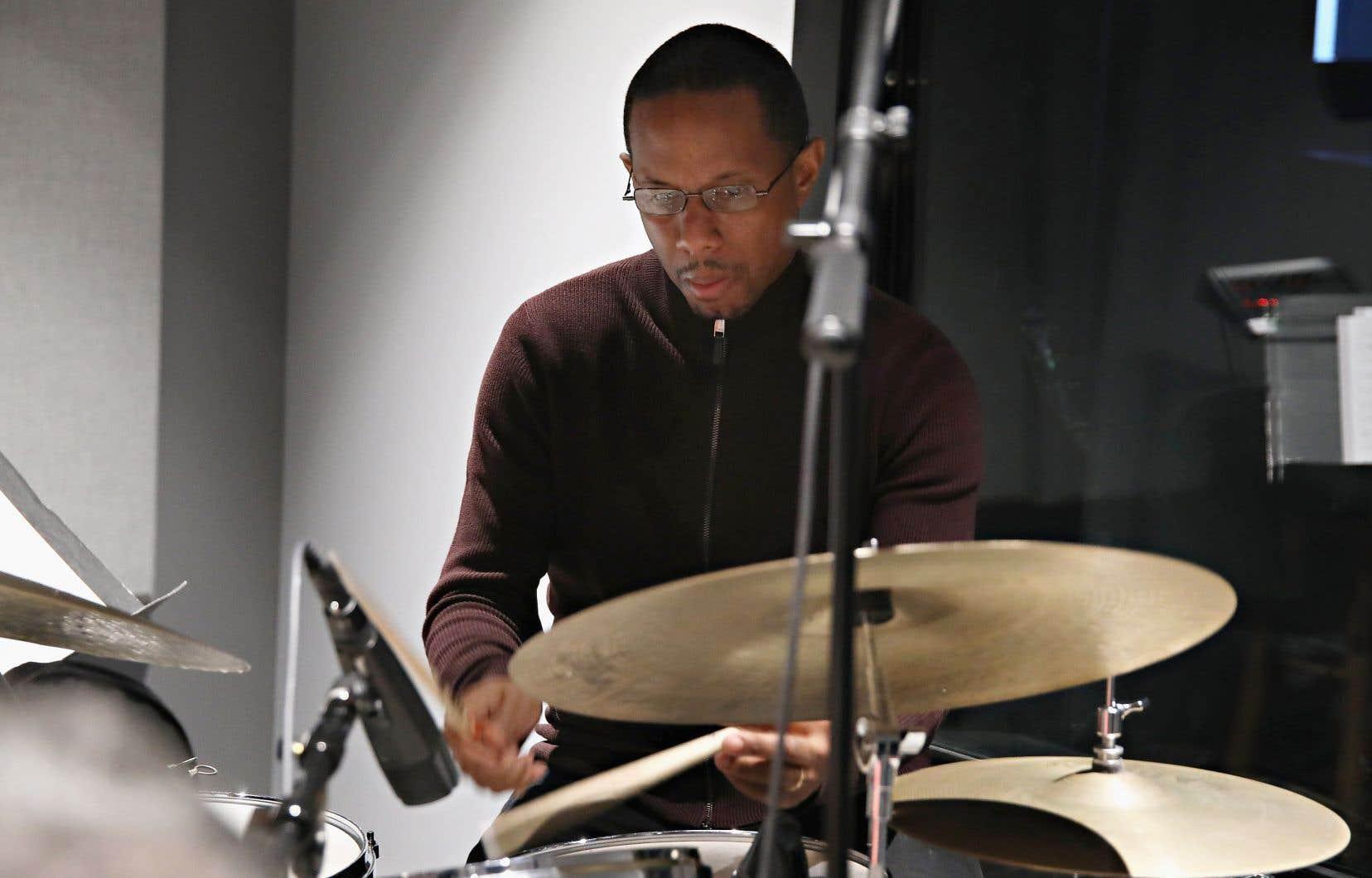 Willie JonesIII en enregistrement en mars dernier à New York