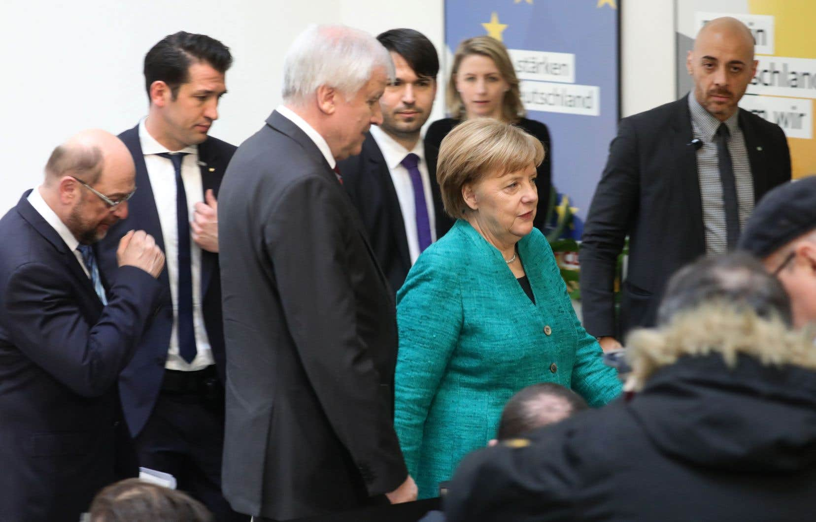 Soulagement en Allemagne, Merkel vers un quatrième mandat
