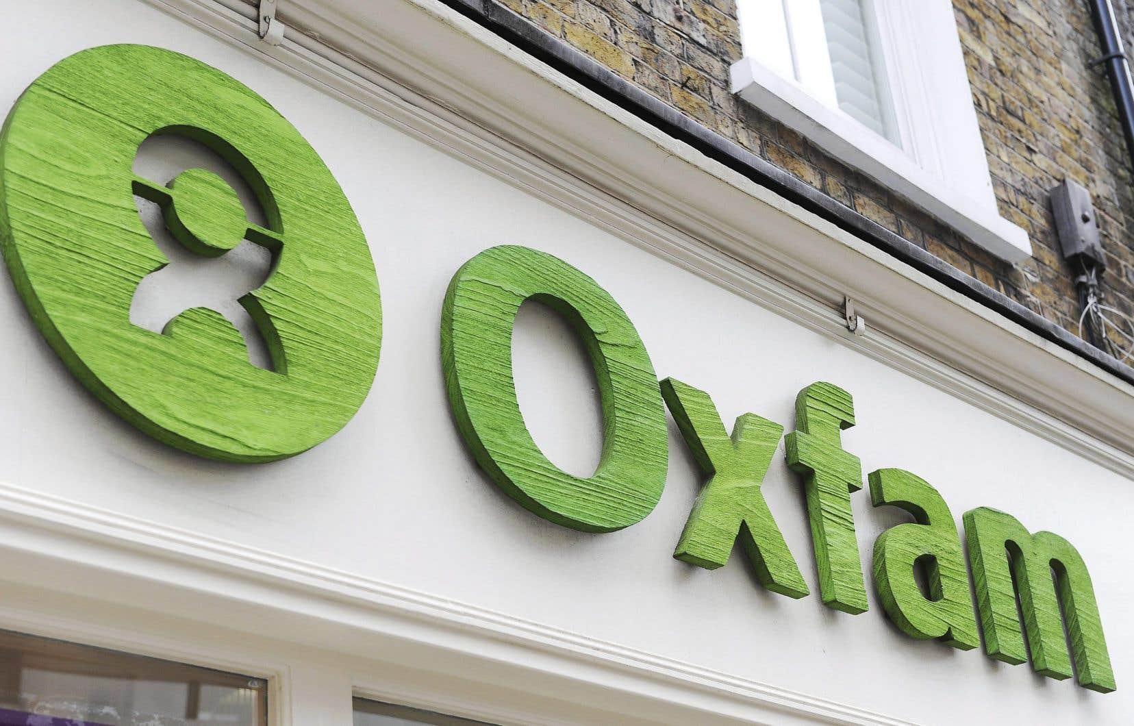 Oxfam reçoit «moins de 10% de son financement total» du département britannique chargé du développement international.