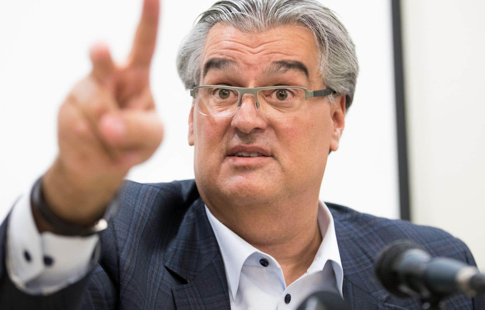 Lino Zambito estime qu'un ménage s'impose au sein de la haute direction de l'Unité permanente anticorruption.