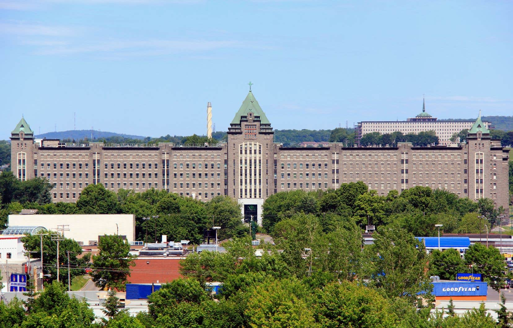 Vue sur l'Institut universitaire en santé mentale de Québec