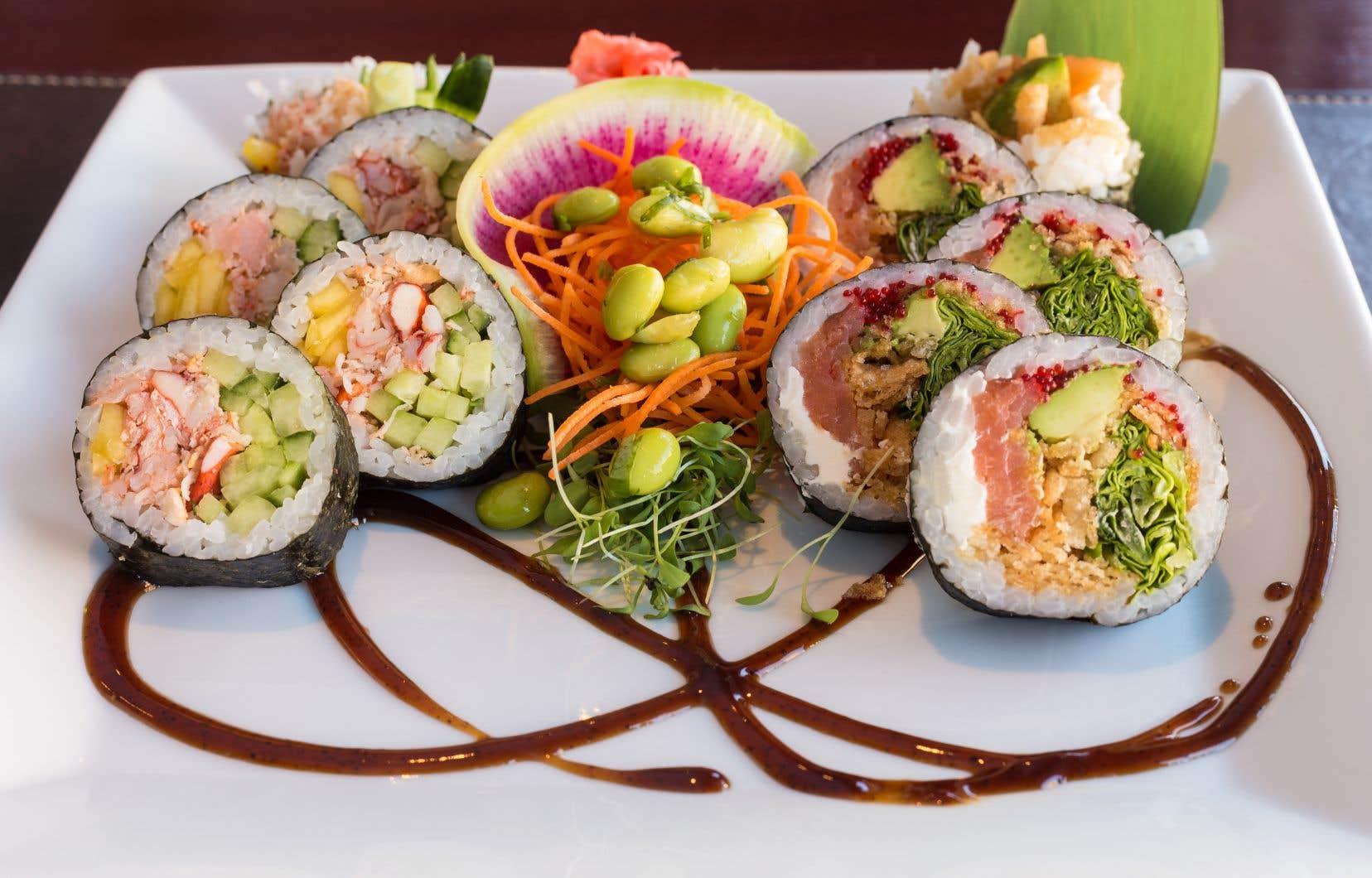 Ce restaurant, situé dans le secteur Sillery à Québec, offre le service de livraison en plus d'opérer une salle à manger d'une trentaine de places.