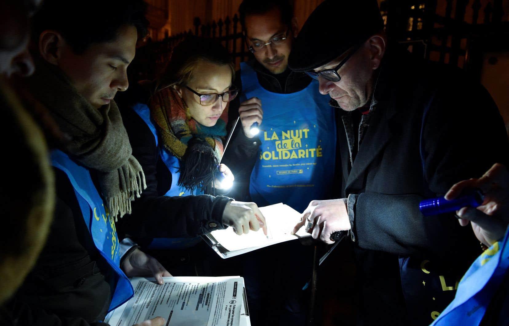 De 22h à 1h du matin, des intervenants ont quadrillé la ville «rue par rue».