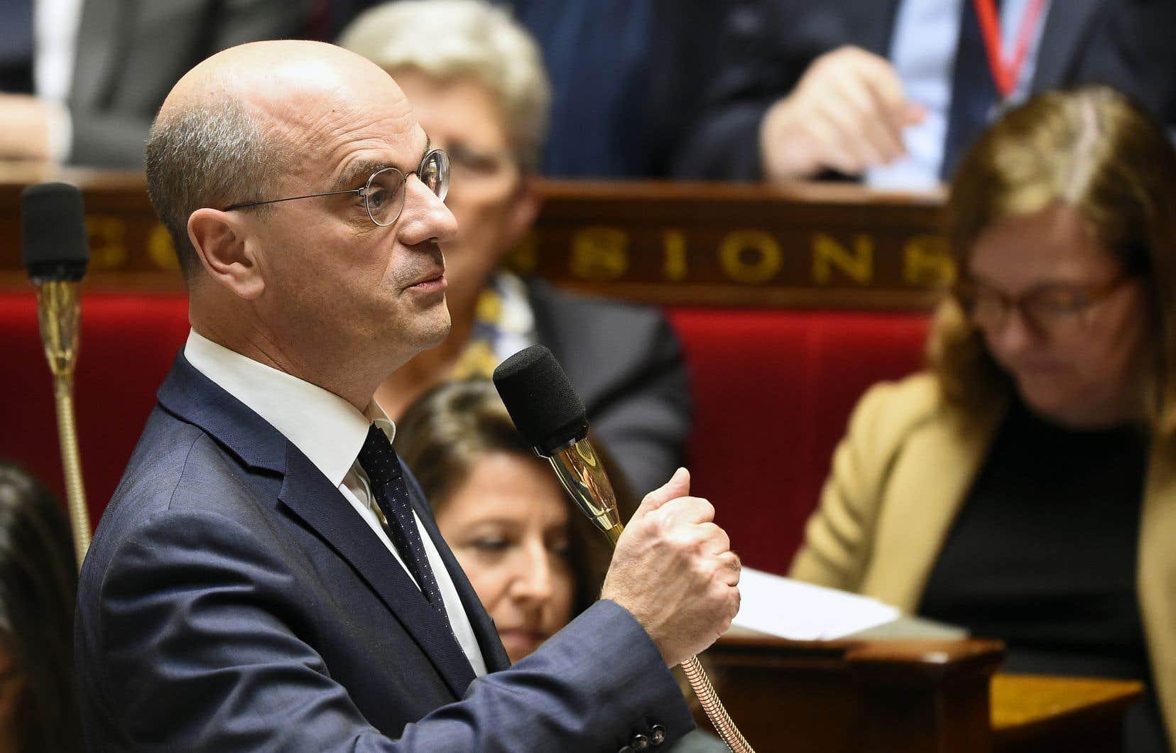 Le ministre Jean-Michel Blanquer veut éviter de se faire étiqueter conservateur ou progressiste.