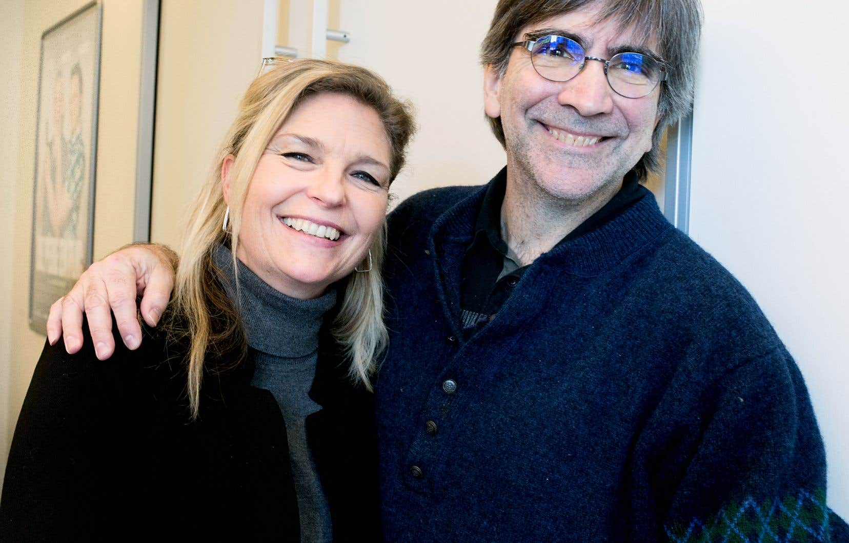 Nancy Florence Savard et Pierre Greco, réalisateurs du film d'animation «Nelly et Simon: Mission Yéti»