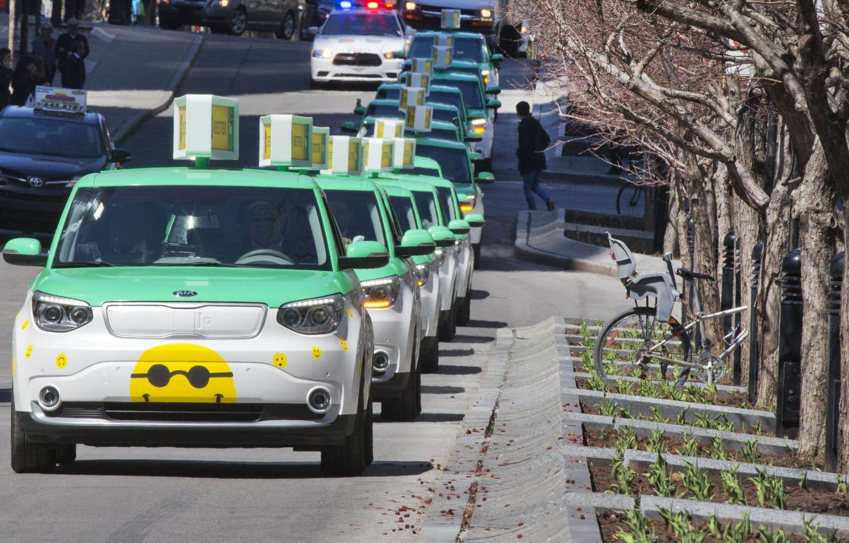 Fondaction investit dans son volet transport durable depuis ses débuts, notamment en soutenant des initiatives telles que Téo Taxi.
