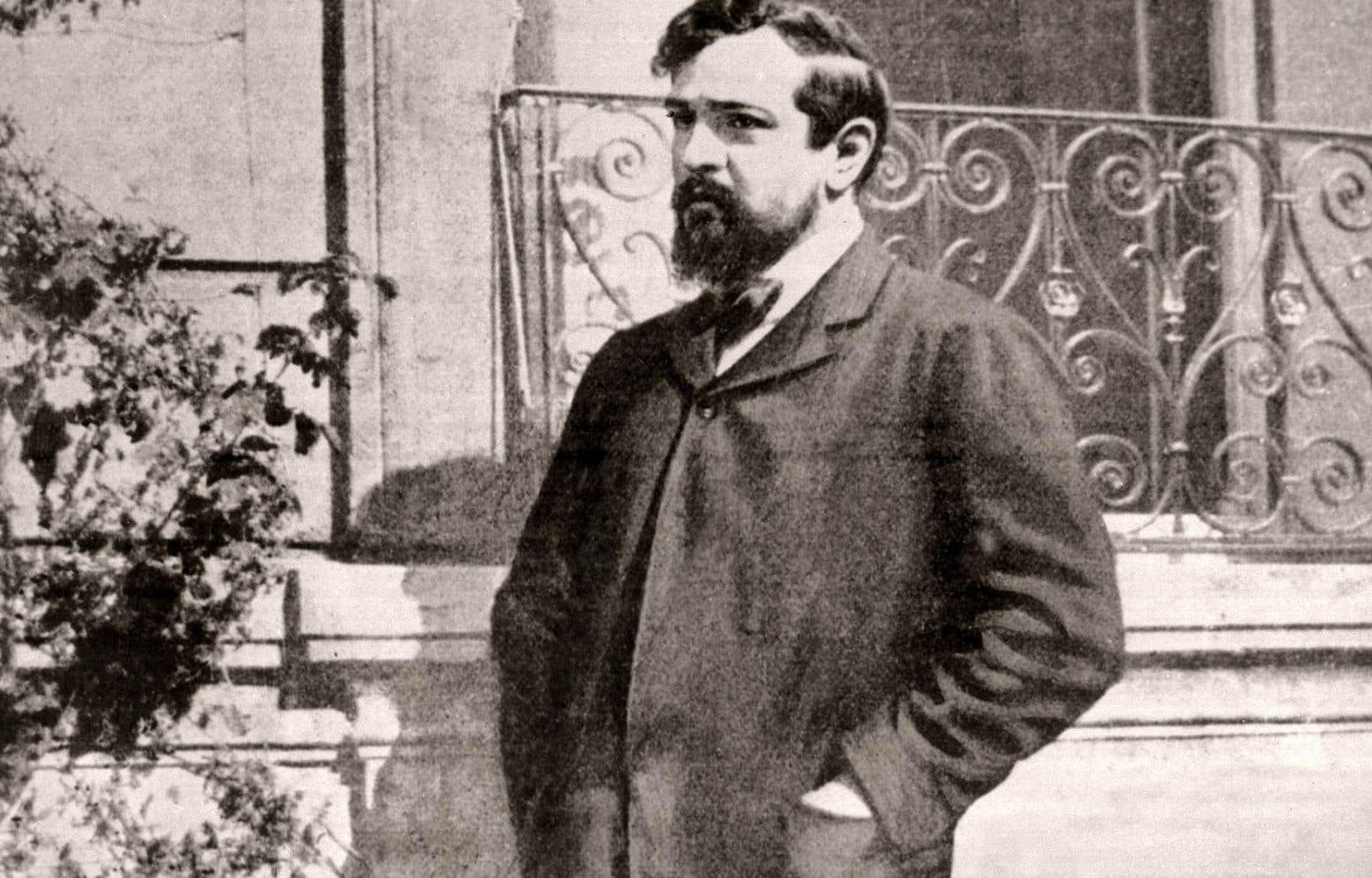Photo non datée du compositeur Claude Debussy