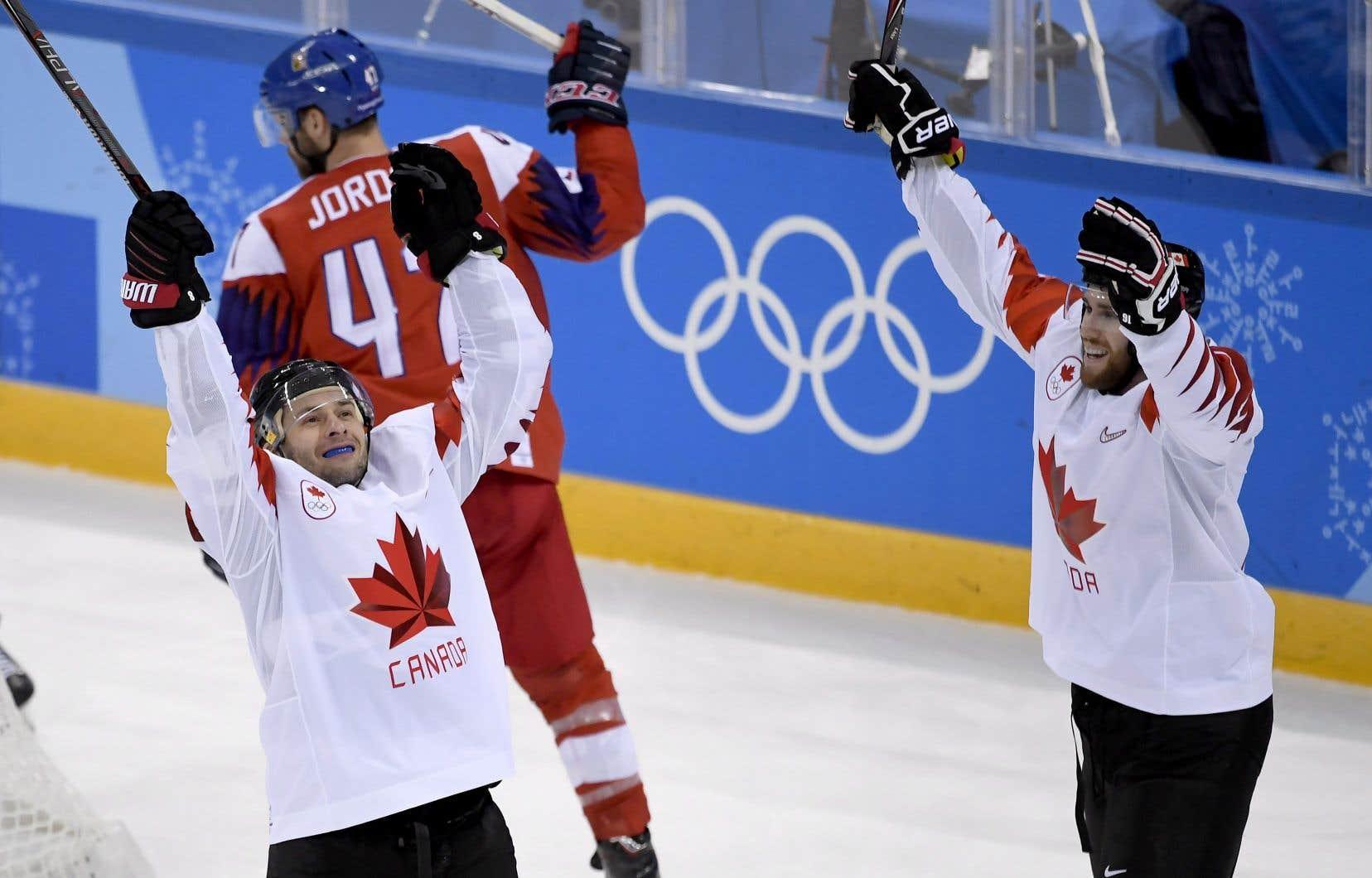Le Canada soutire le bronze — Hockey masculin