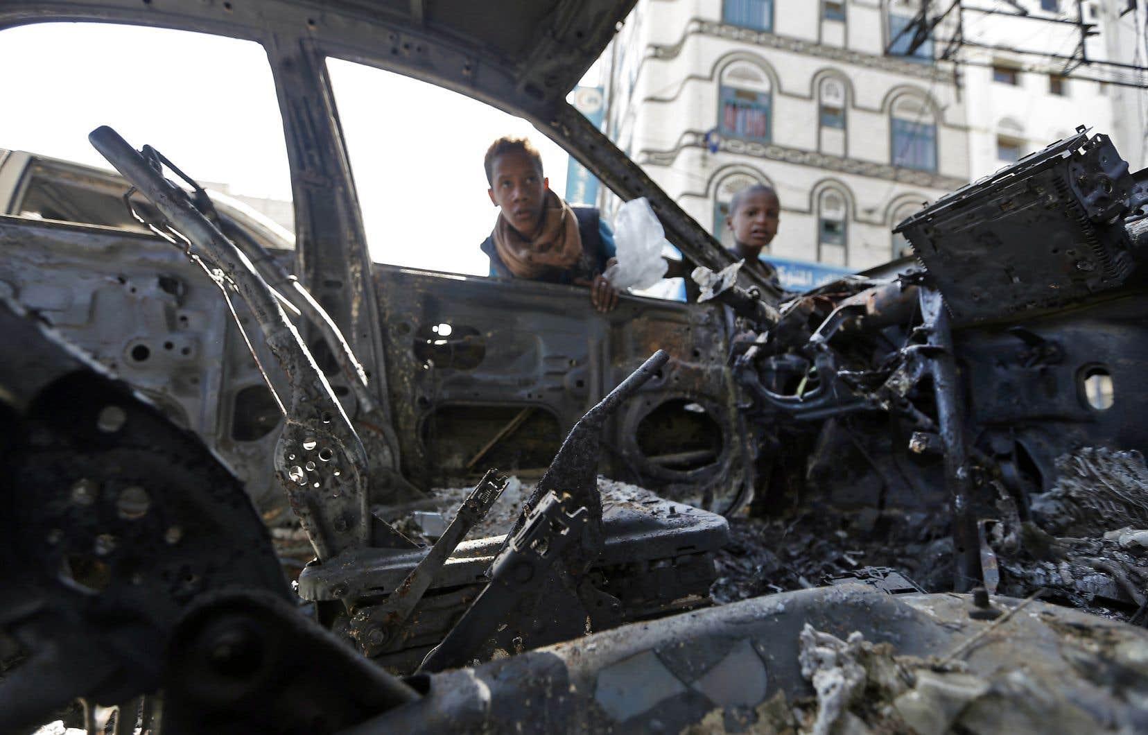 Selon les Nations unies, la guerre du Yémen a fait plus de 9200 morts, en majorité des civils.