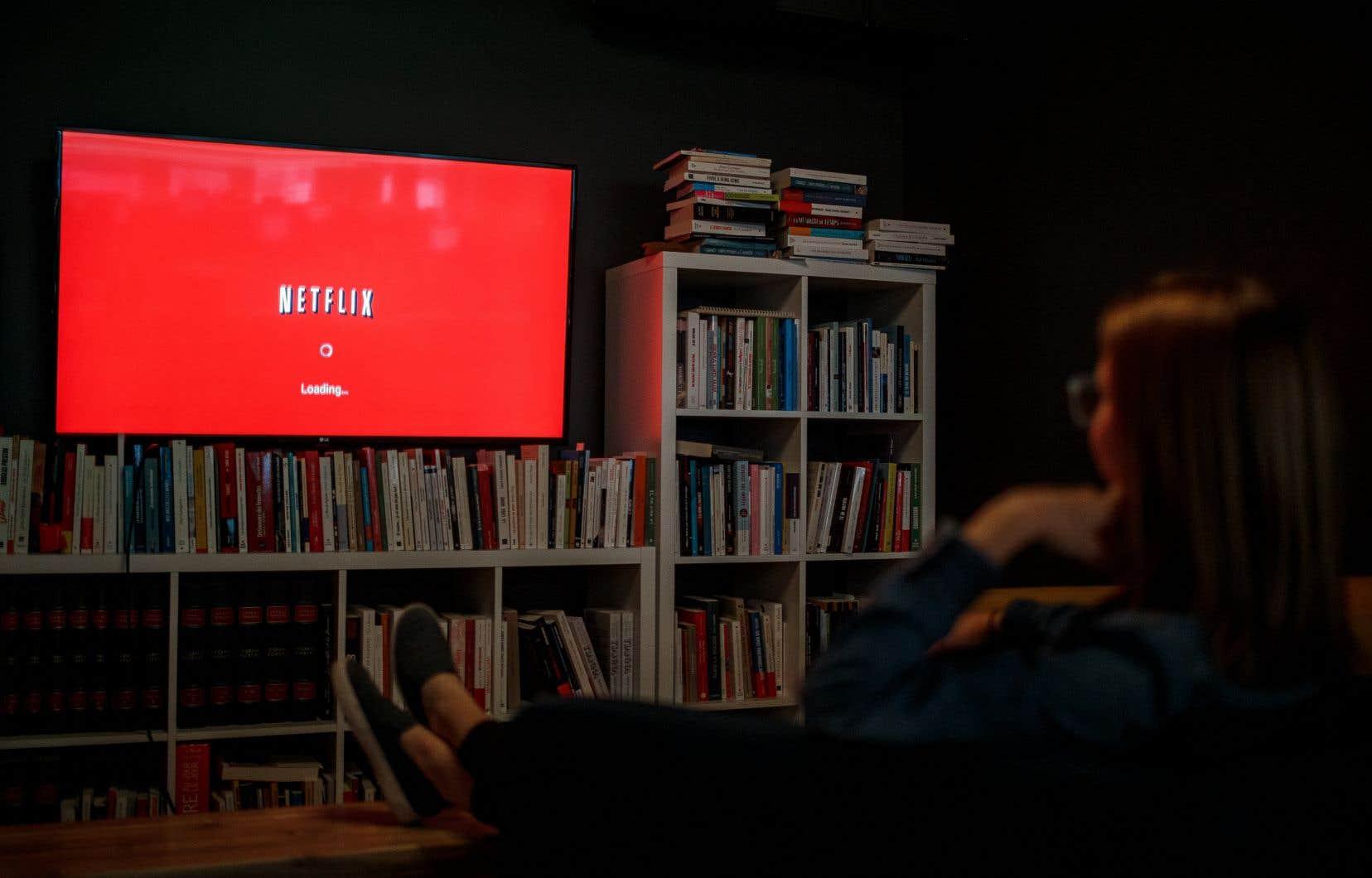 Le gouvernement fédéral ne veut rien savoir d'obliger les plateformes étrangères comme Netflix à percevoir la TVQ sur les produits qu'elles offrent.