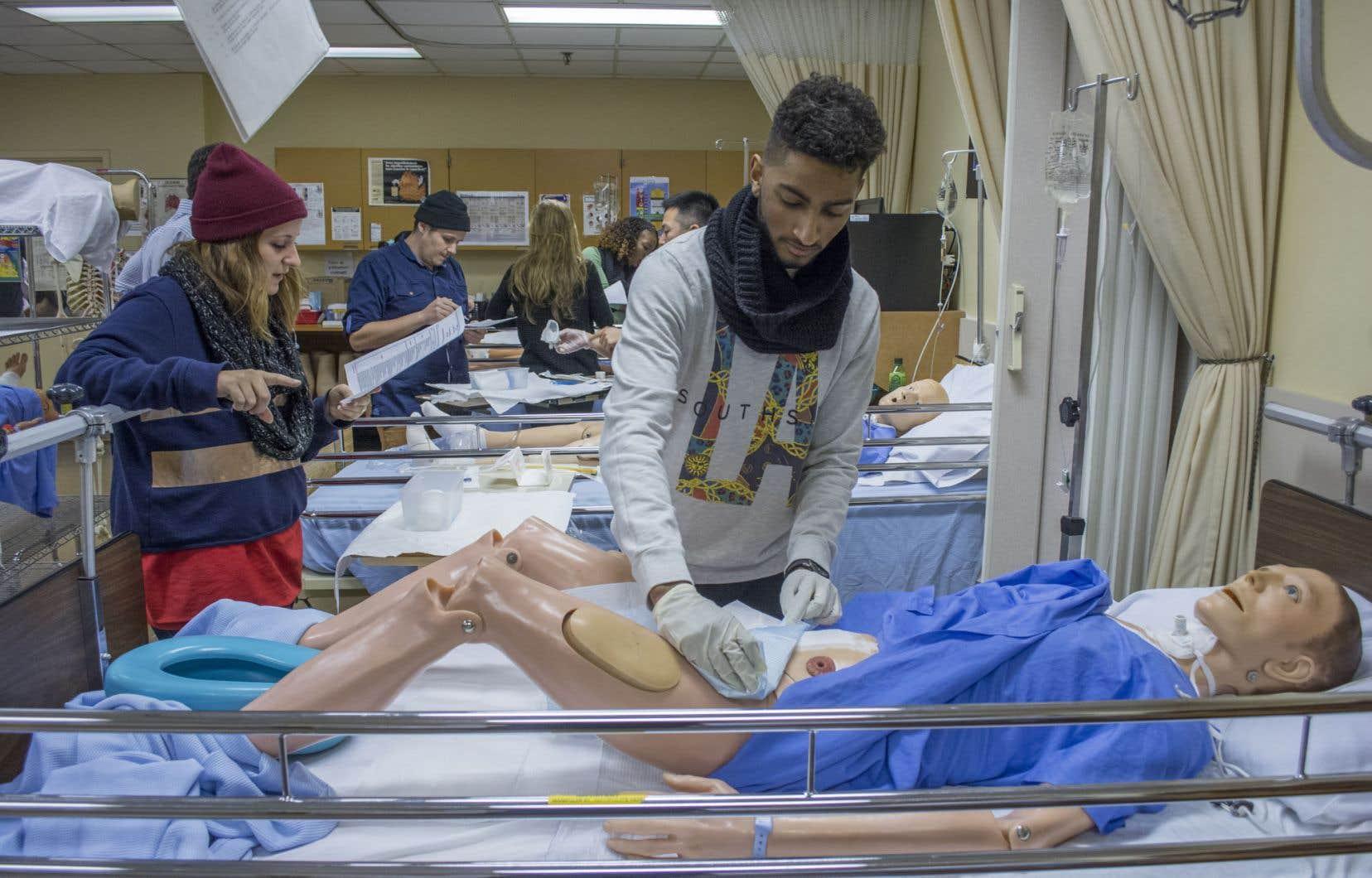 «Un élément d'importance est peu mentionné, voire non considéré dans ce débat, celui de la formation de la relève des infirmières», selon les auteurs.