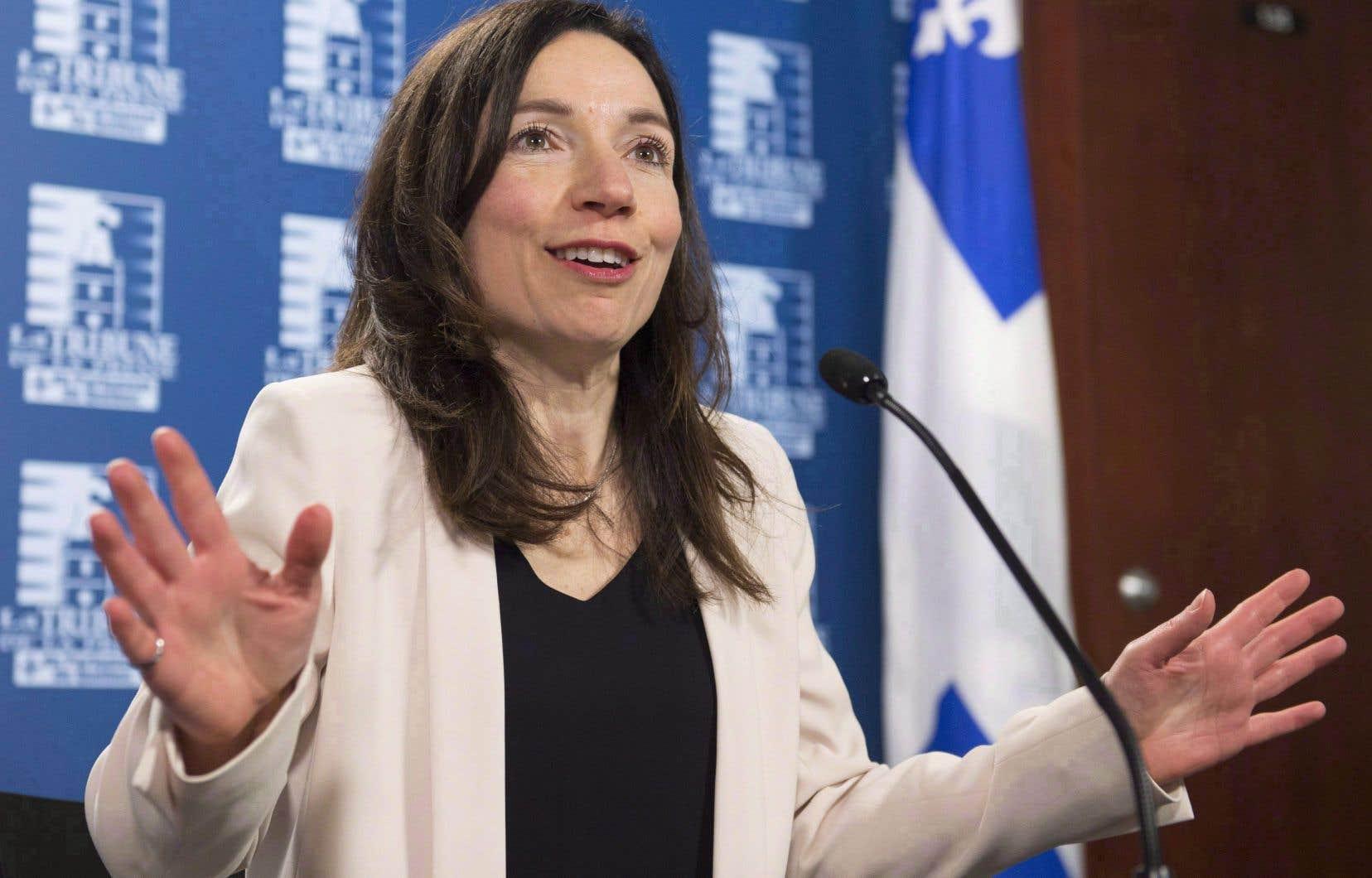 Lundi dernier, une crise entre une majorité de l'aile parlementaire du Bloc québécois et le camp de la chef Martine Ouellet a éclaté.