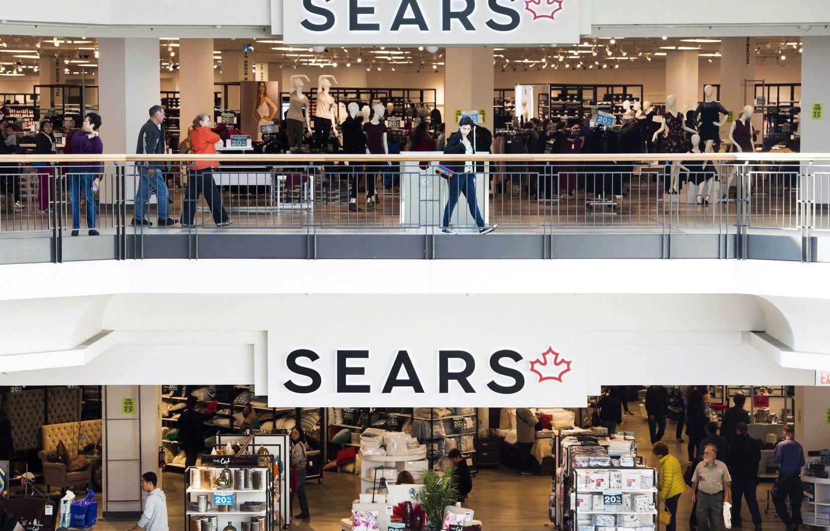 Le régime de retraite des employés de Sears souffrait d'un manque à gagner d'environ 19% en date de juin 2017.