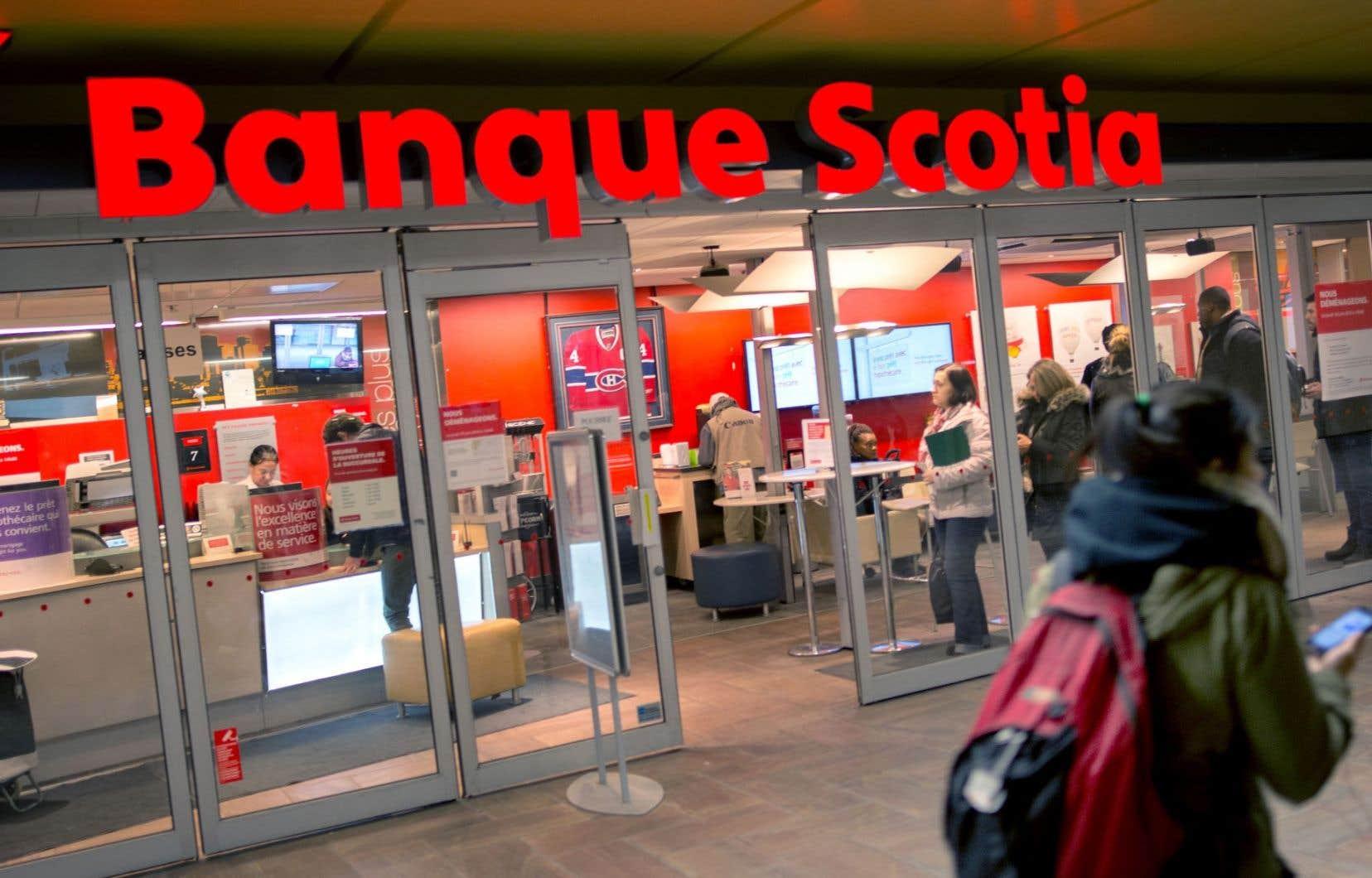 La Banque Scotia a dévoilé un bénéfice par action de 1,86$ pour son plus récent trimestre.