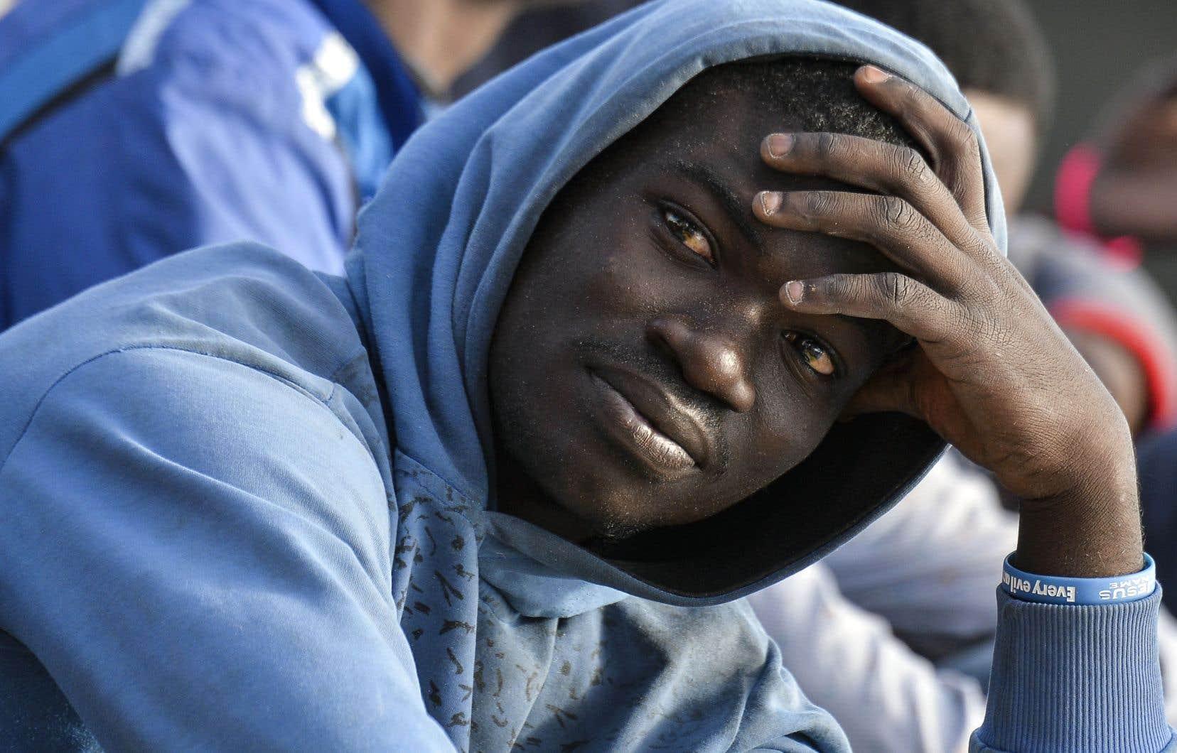 Un migrant parmi les centaines de milliers qui sont arrivés sur le territoire italien au cours des dernières années.