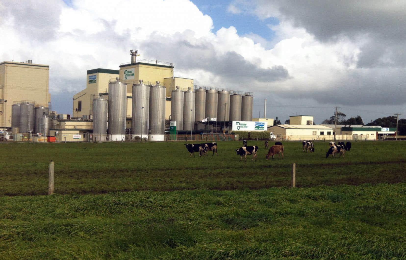 Les craintes concernent l'usine de Koroit, située dans l'État de Victoria, qui permettrait à Saputo de contrôler plus des deux tiers de la capacité de transformation dans cette région.
