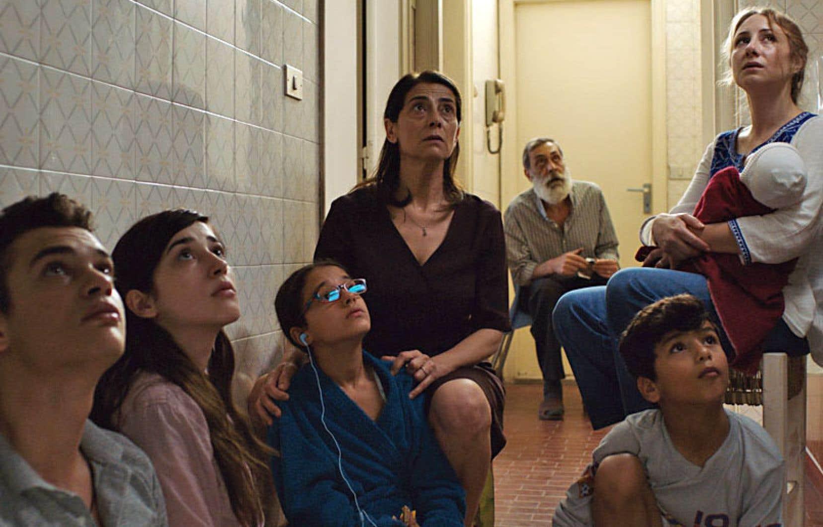 Une scène tirée du film «Une famille syrienne», de Philippe Van Leeuw