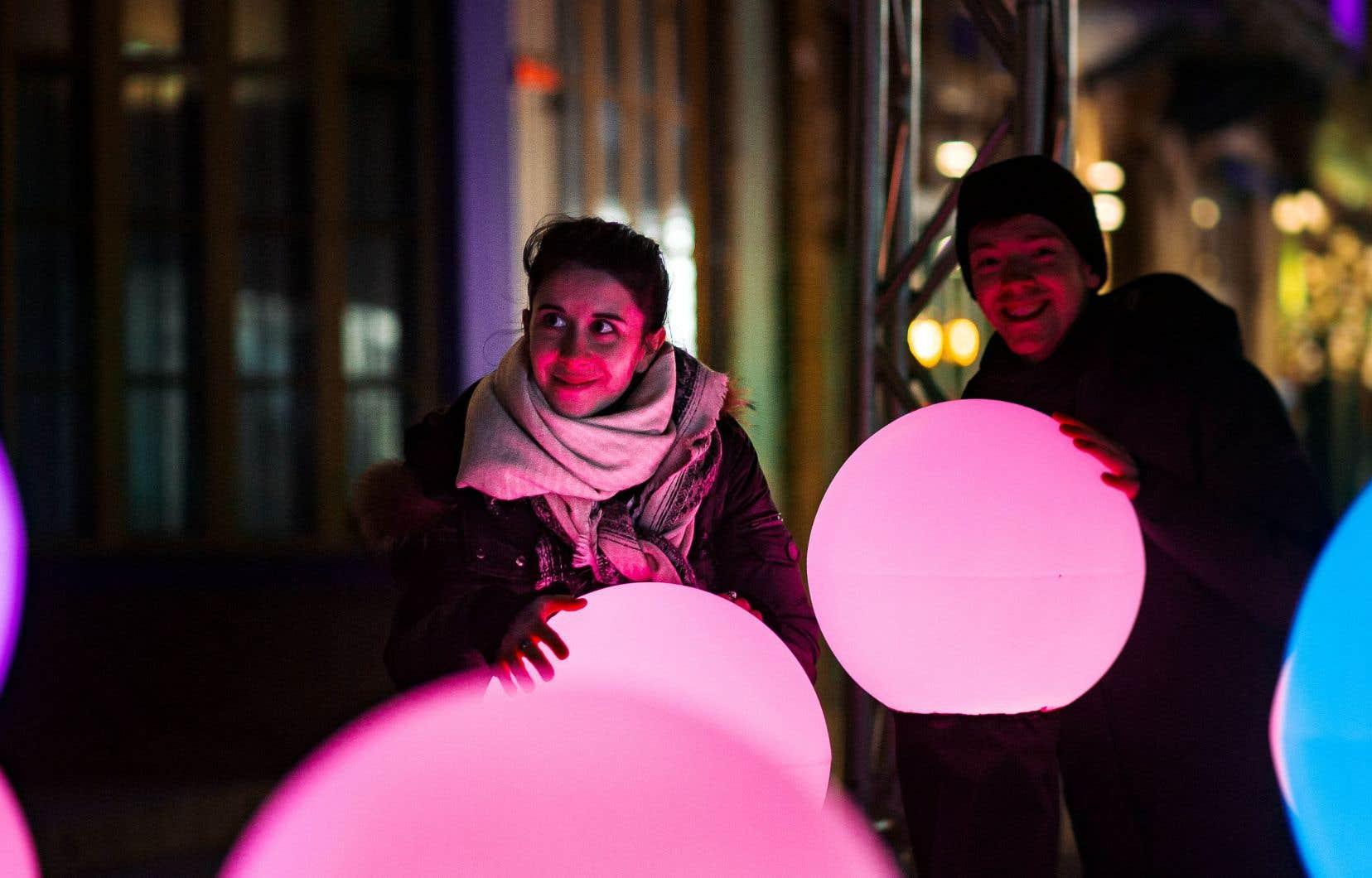 «Propolis», une installation d'étudiants de l'UQAM