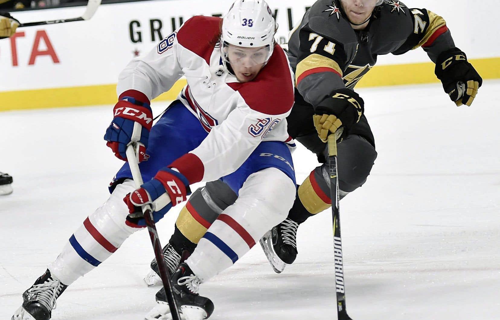 Nikita Scherbak fait partie des jeunes joueurs du Canadien qui comptent profiter de la fin de saison pour prouver leurs capacités à jouer dans la grande ligue.