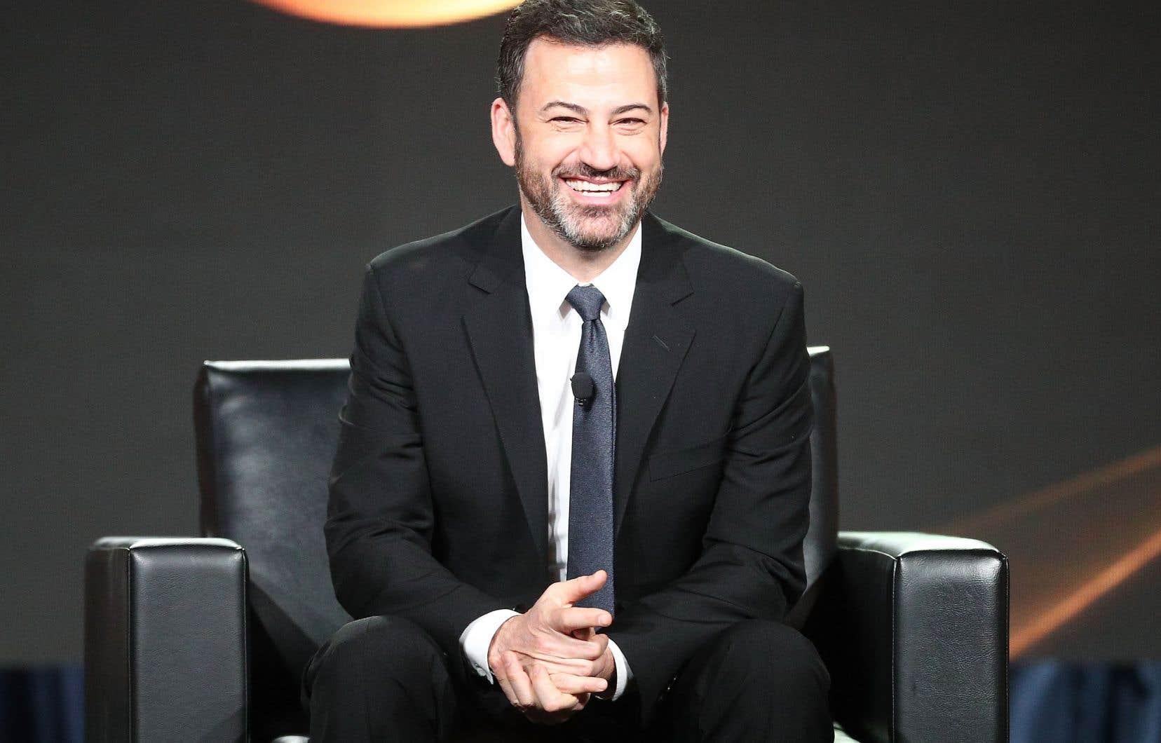 Jimmy Kimmel montera sur la scène des Oscar comme animateur pour la deuxième année consécutive.