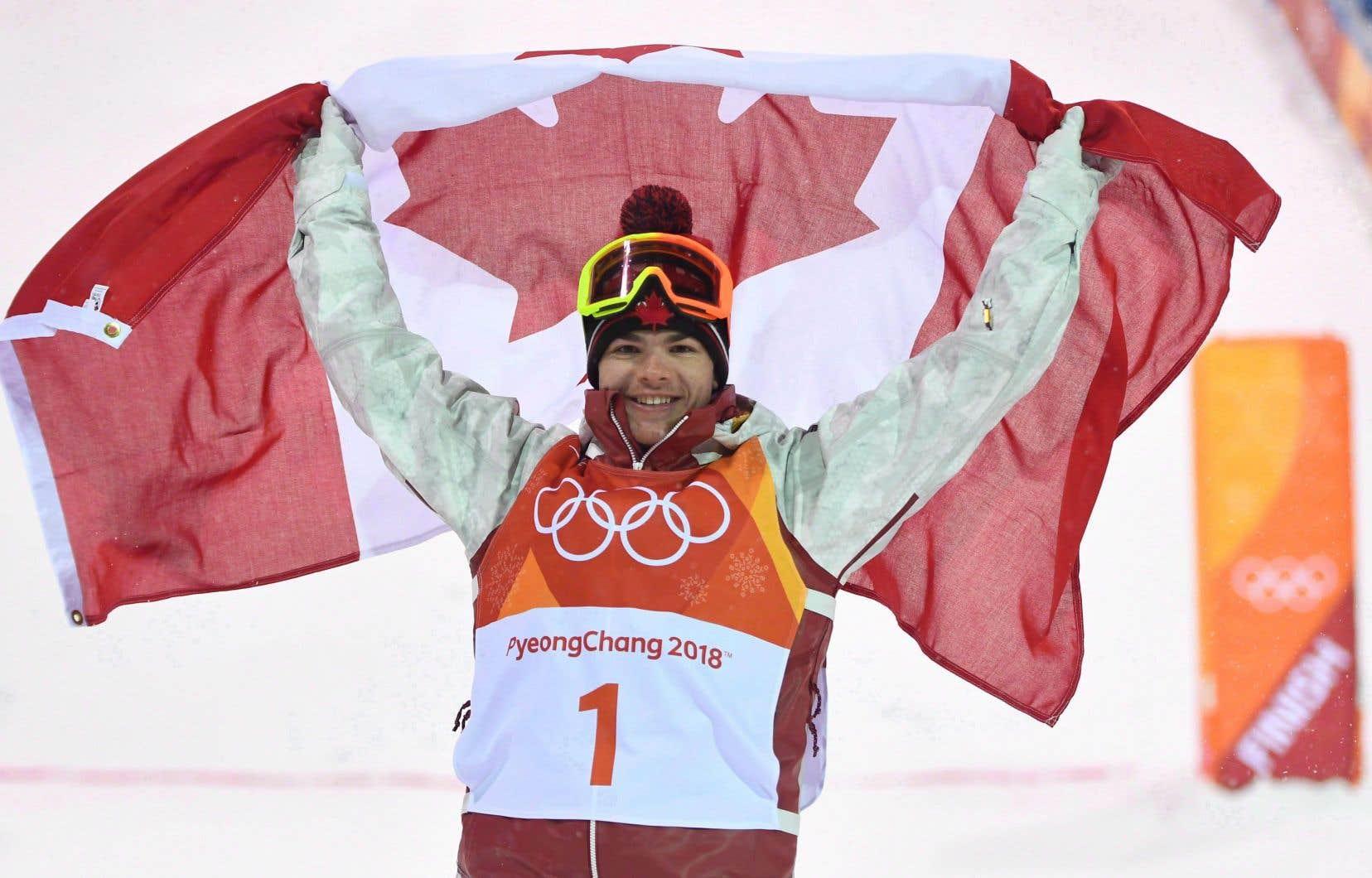 Mikaël Kingsbury avait remporté la médaille d'or à l'épreuve des bosses aux Jeux olympiques de Pyeongchang.