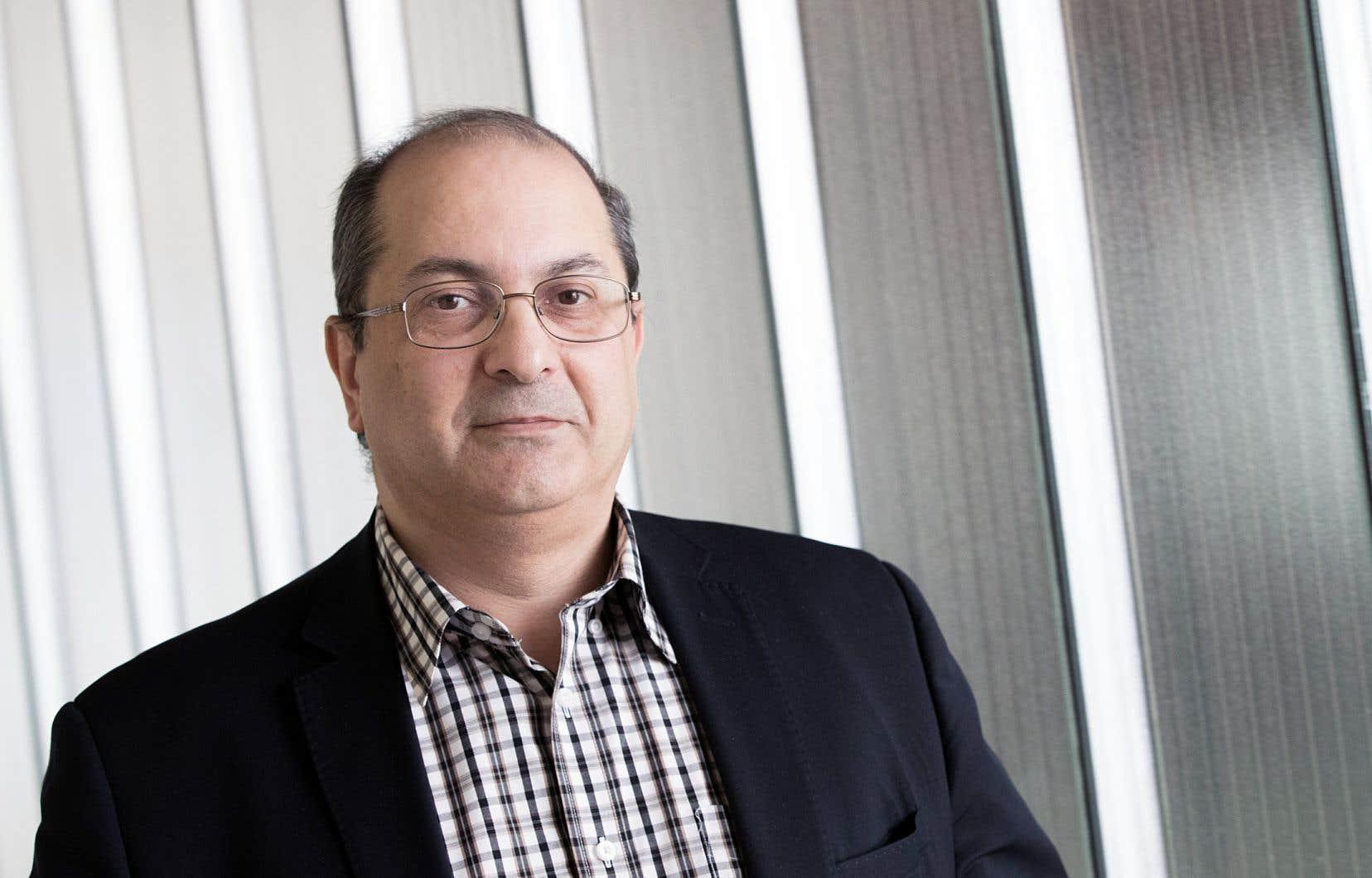 Le professeur Amin Hammad
