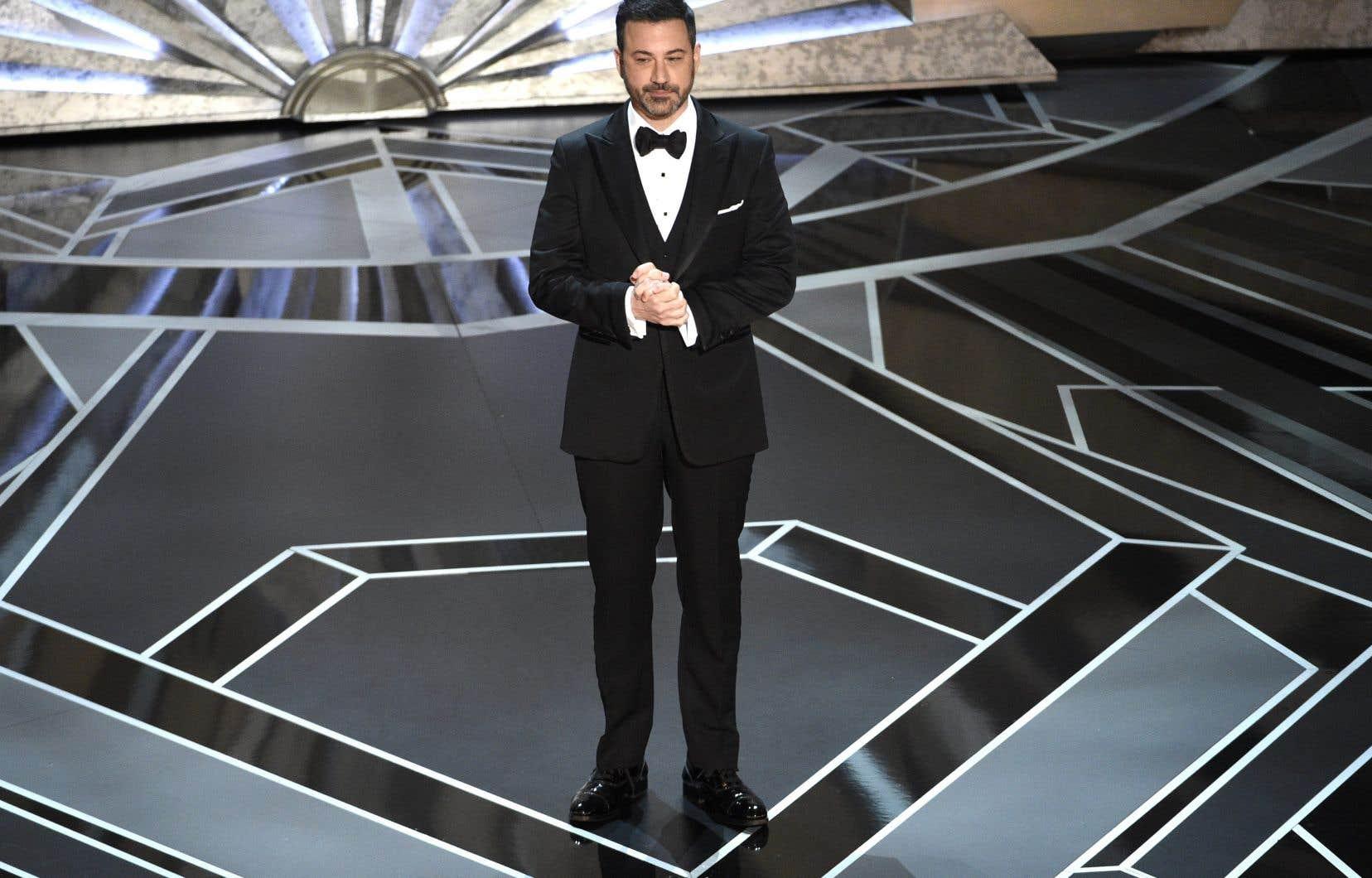 La 90e cérémonie des Oscar était animée par l'humoriste Jimmy Kimmel.