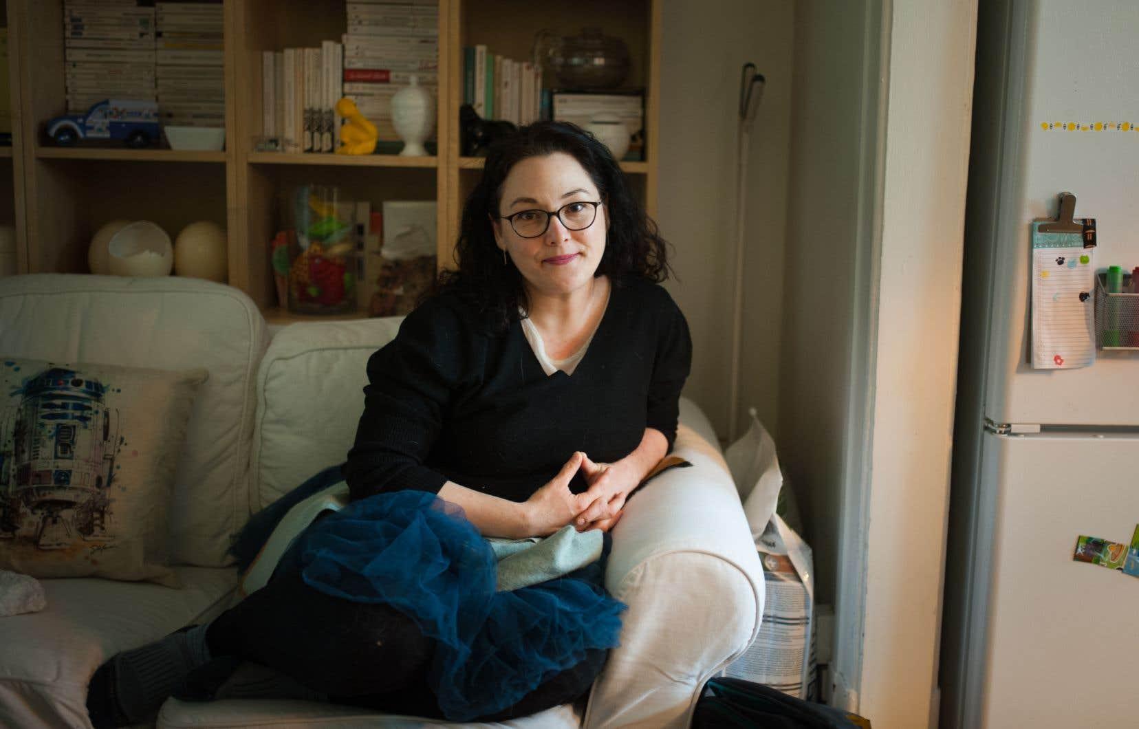 «J'ai de l'aide pour avoir une meilleure cohérence dans mes études», explique Sandra Doyon, qui a reçu un diagnostic de TDAH après un retour aux études en communication à l'UQAM.
