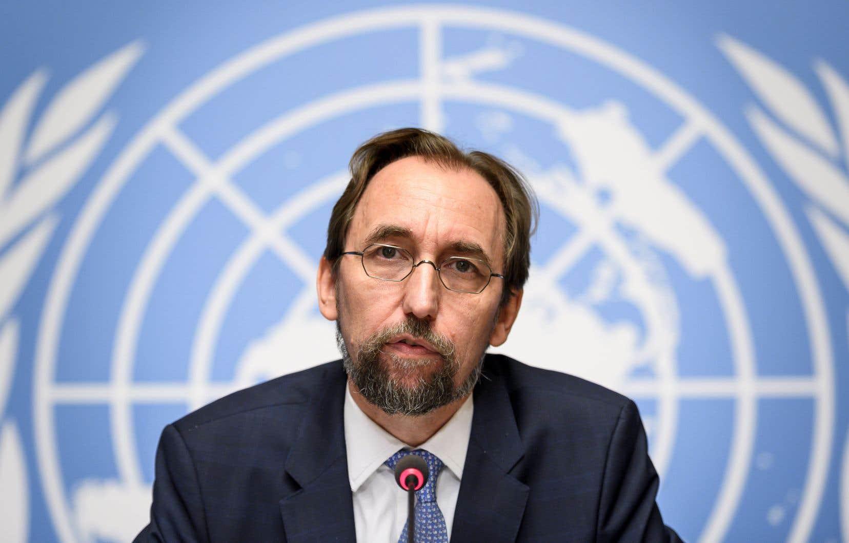 Le haut-commissaire de l'ONU aux droits de l'homme, Zeid Ra'ad al Hussein
