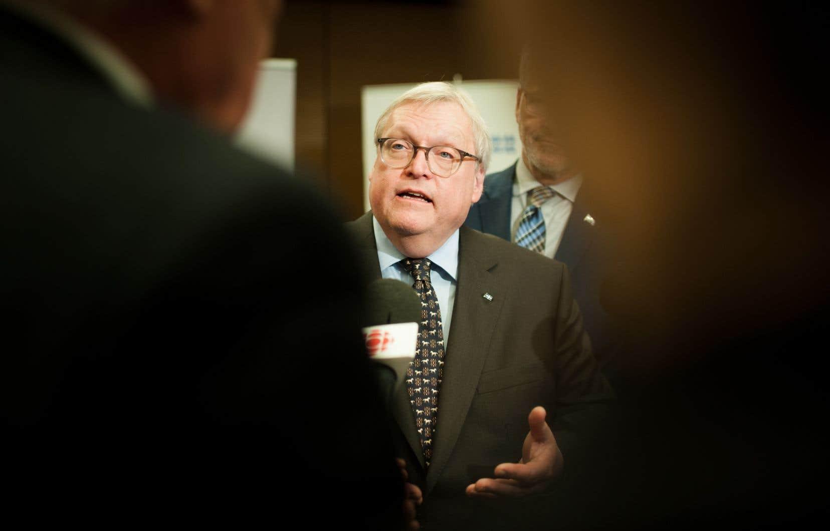 Le ministre de la Santé, Gaétan Barrette, estime quel'étude duchercheur Damien Contandriopoulos ne serévèle d'aucune utilité.