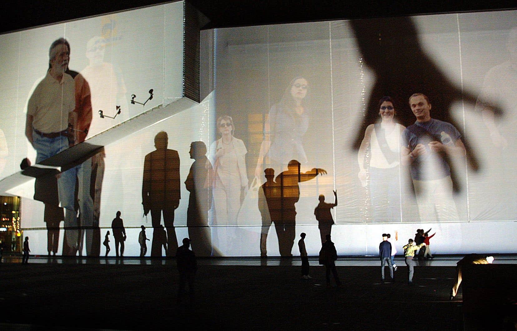 L'œuvre «Body Movies», créée à Rotterdam en 2001
