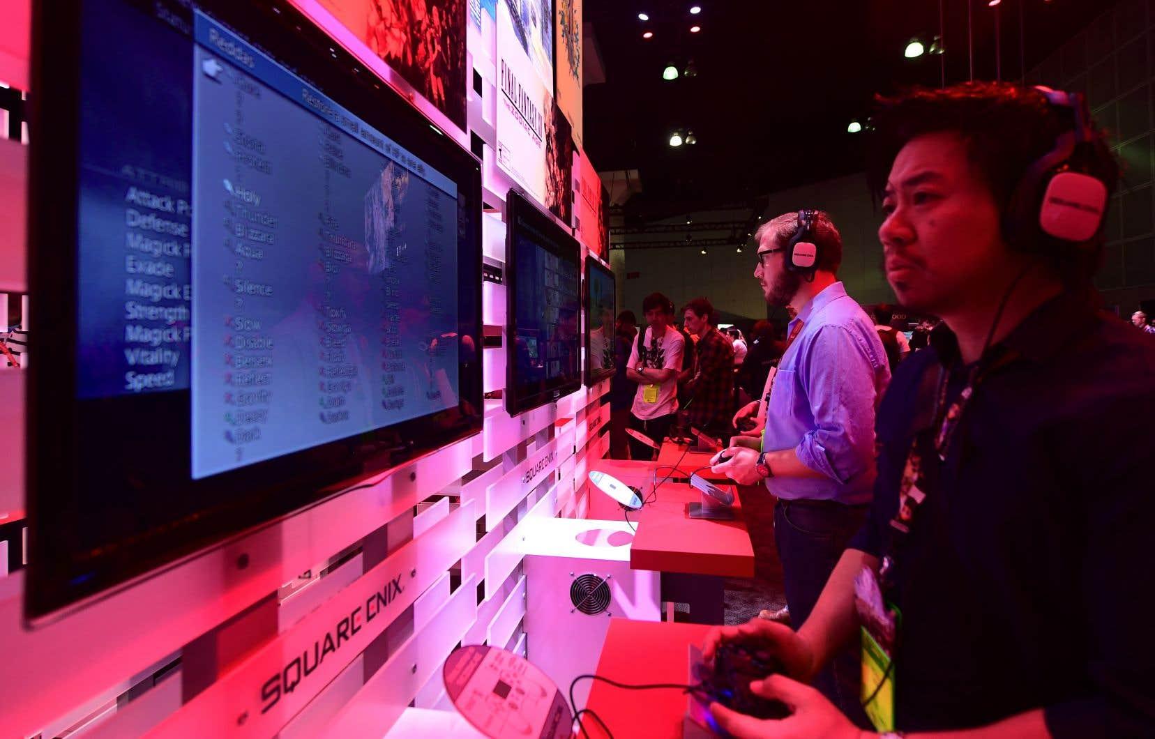 Les jeux vidéo représentent un marché mondial de 100 milliards de dollars par an.