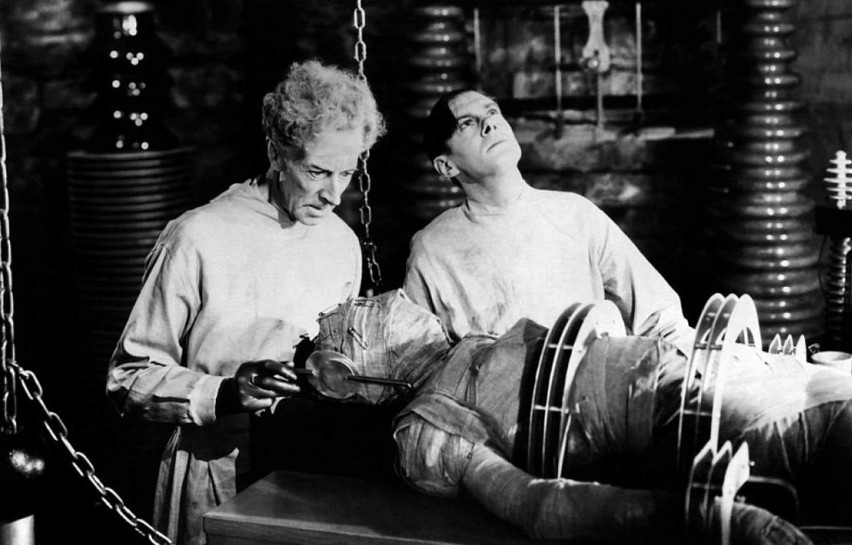 Une photo tirée du film «La fiancée de Frankenstein» de James Whale (1935)
