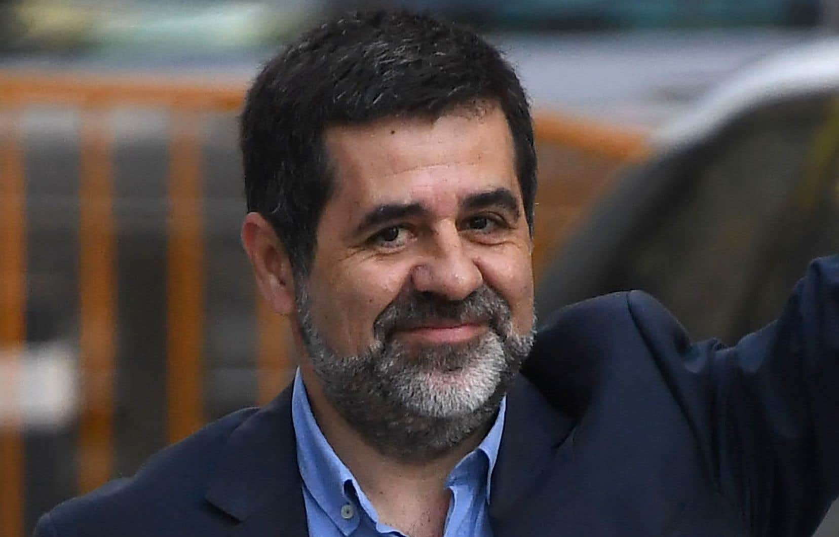 Un juge a refusé d'accorder une permission de sortie de prison à Jordi Sanchez, qui voulait se présenter au parlement régional pour être investi comme nouveau président de l'exécutif catalan.
