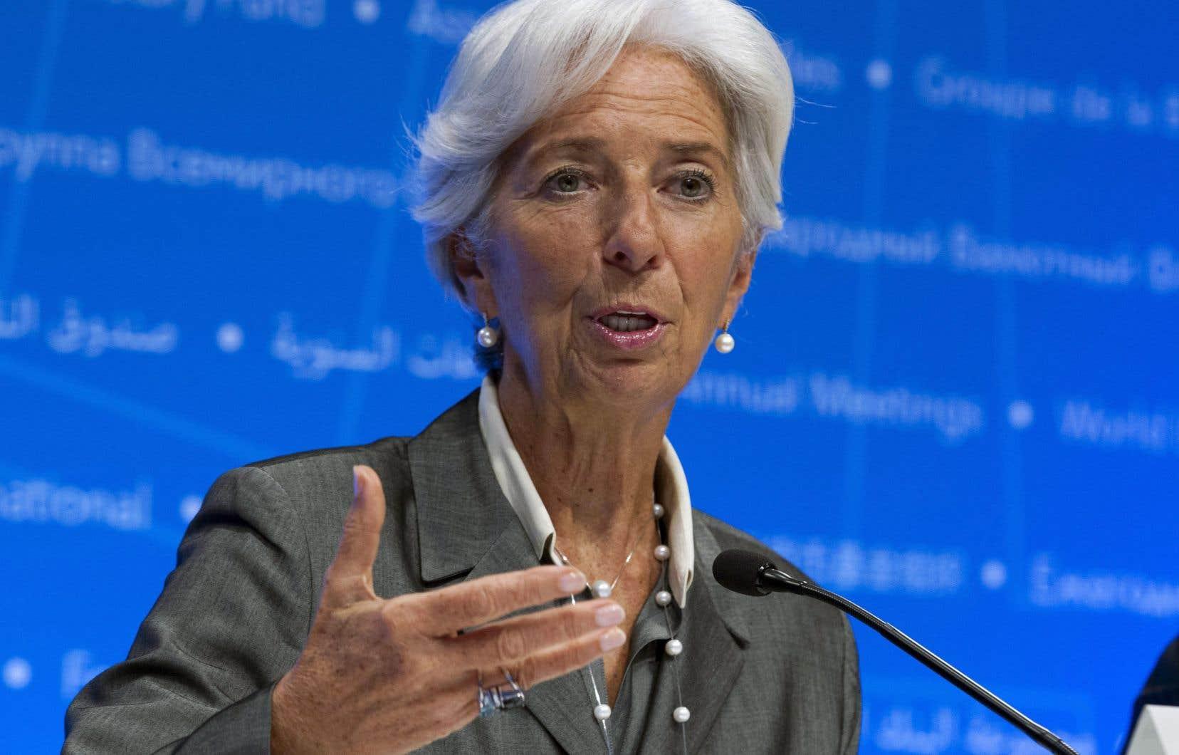 «D'une certaine manière [M. Trump] a quelques bonnes raisons de protester contre la situation actuelle», a reconnu la directrice générale du Fonds monétaire international, Christine Lagarde.