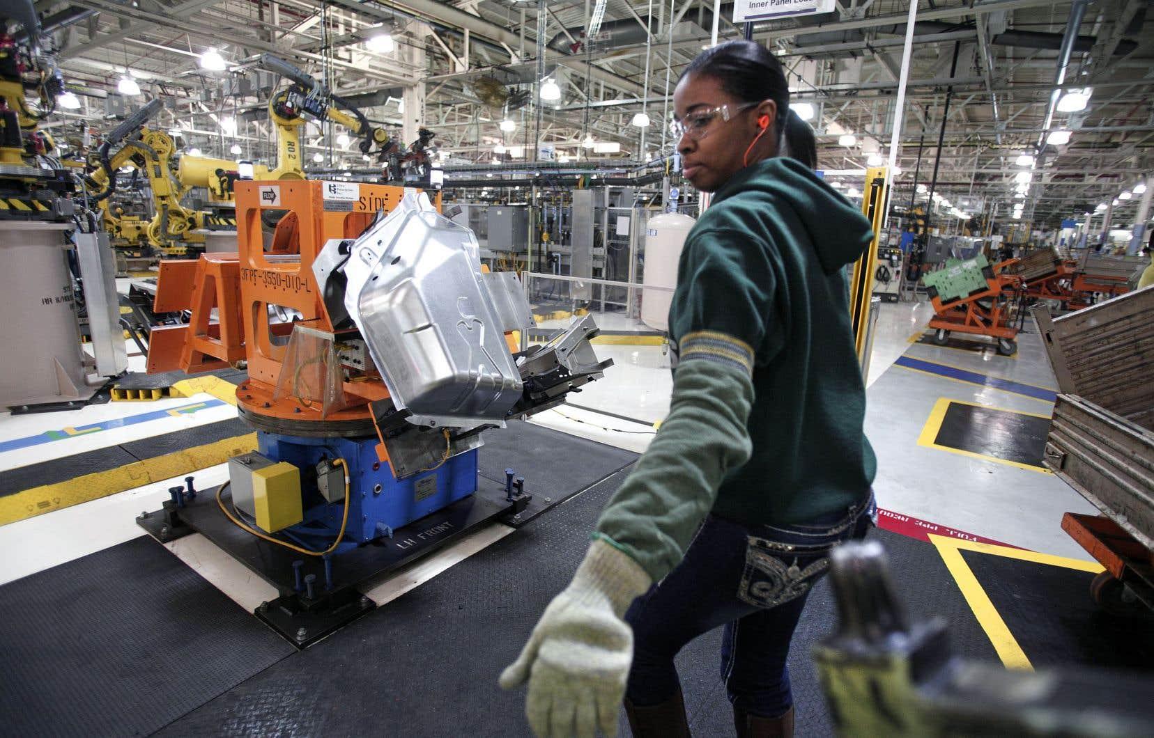 Dans le Michigan, le secteur automobile voit d'un mauvais oeil la hausse des coûts attendue, alors même que les ventes d'automobiles ralentissent sur le marché américain.