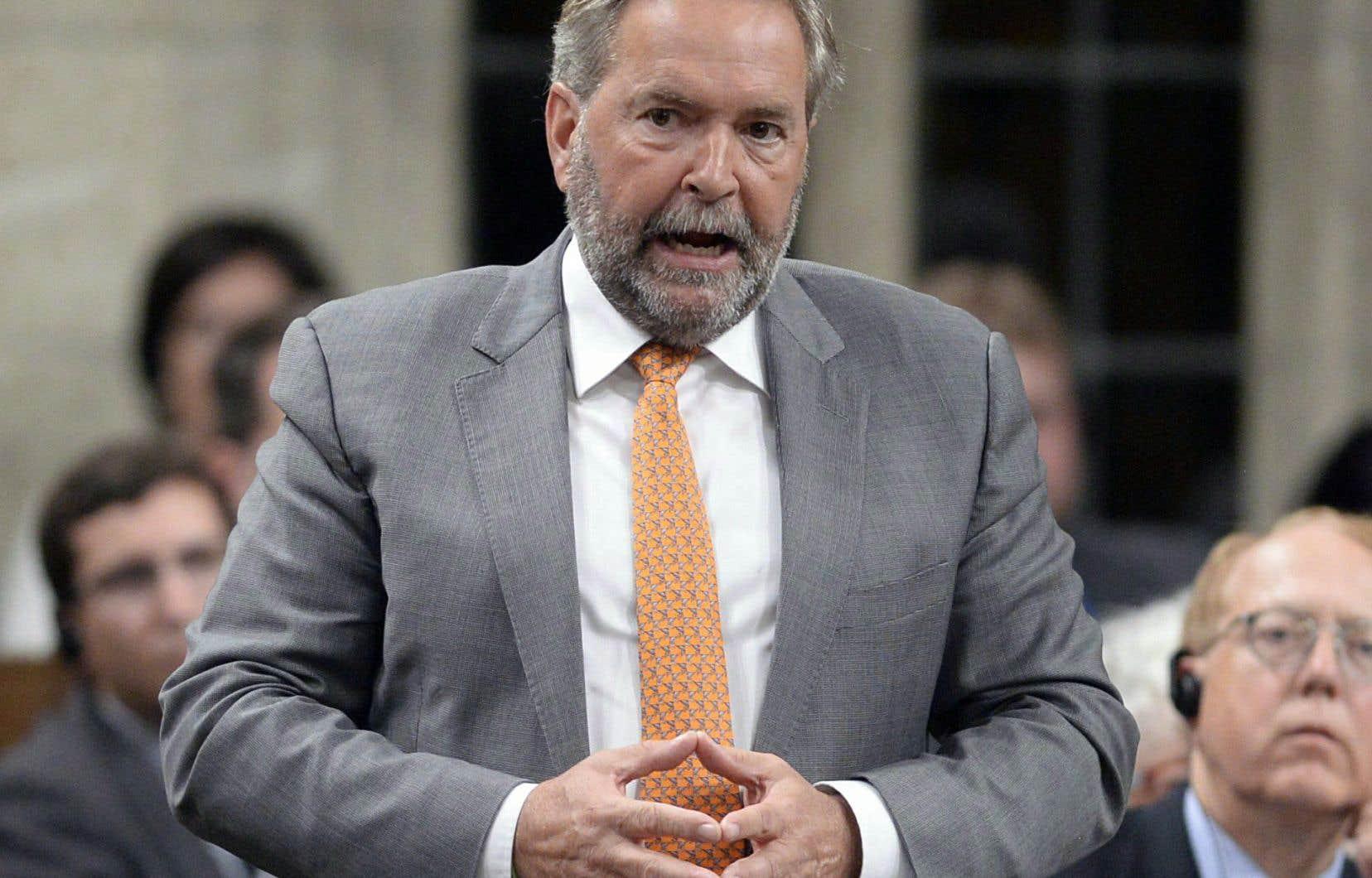 Thomas Mulcair quittera officiellement ses fonctions «cet été» — la date n'est pas précisée —, après quoi il gagnera ses nouveaux bureaux à l'Université de Montréal.