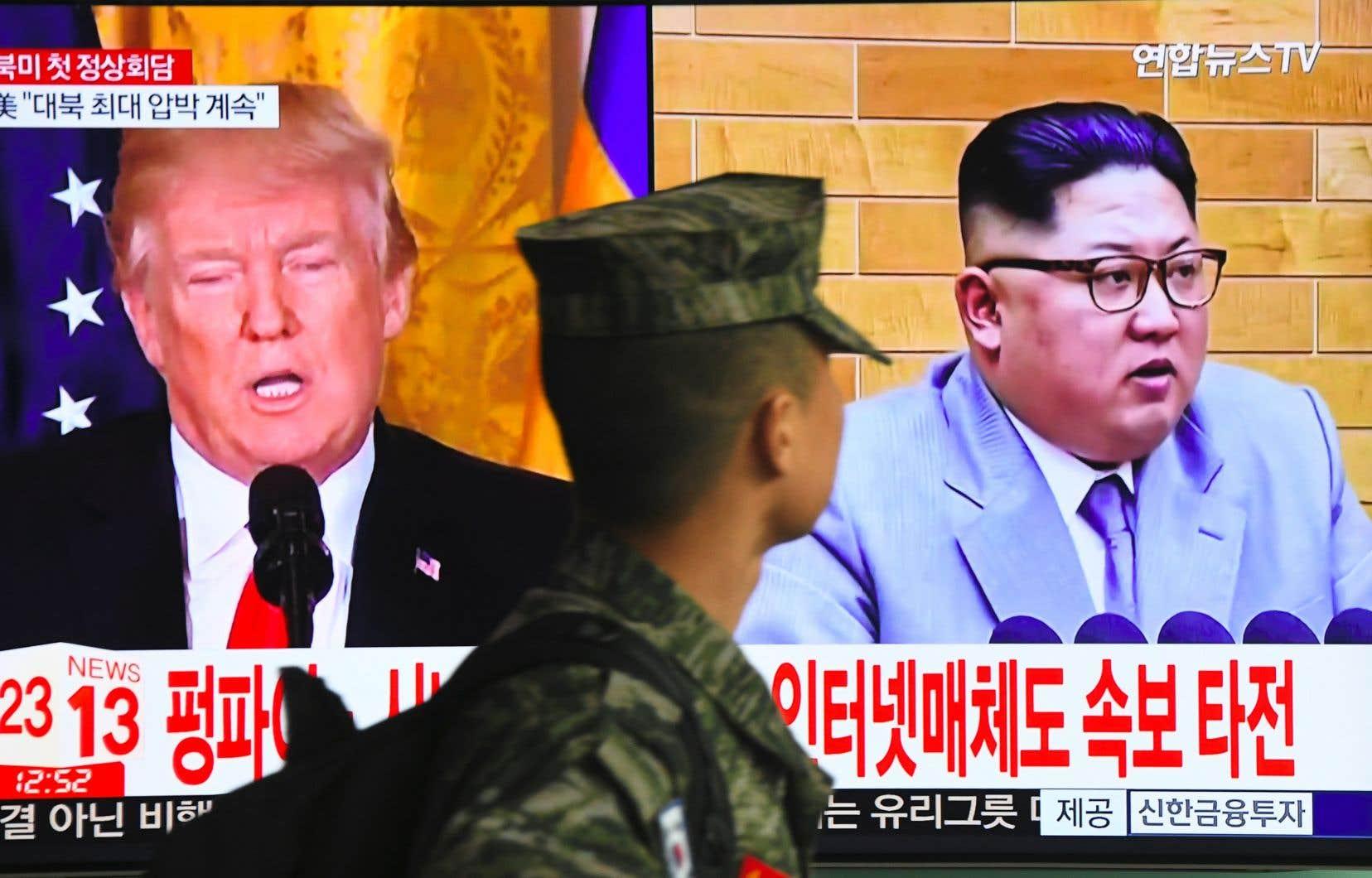 Le président américain s'est dit convaincu qu'une rencontre avec Kim Jong-un serait couronnée d'un «immense succès».