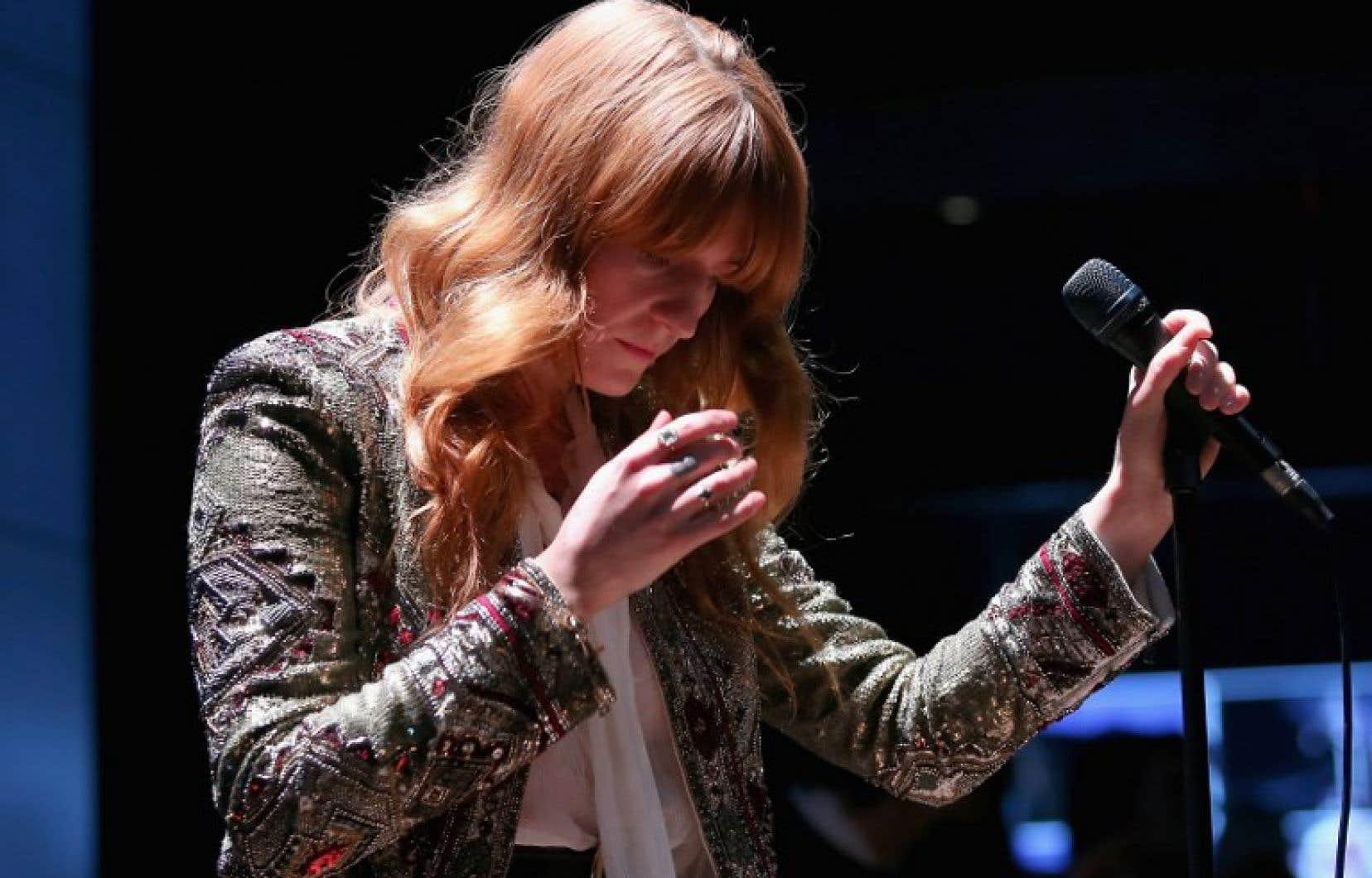Le groupe Florence + The Machinesera l'une des têtes d'affiche de la 13ème édition du festival Osheaga.
